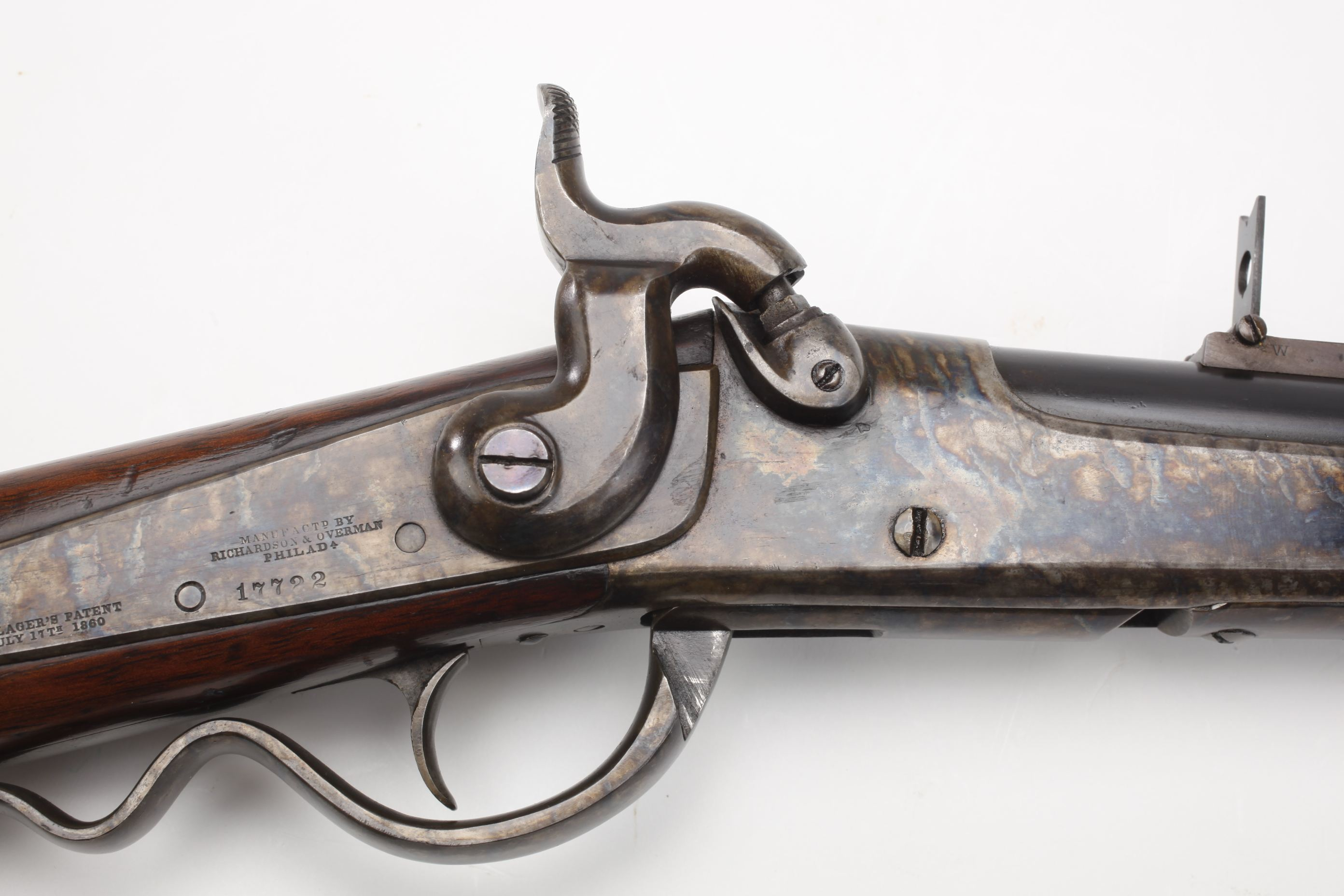 U.S. Richardson and Overman Gallager Percussion Carbine (1)
