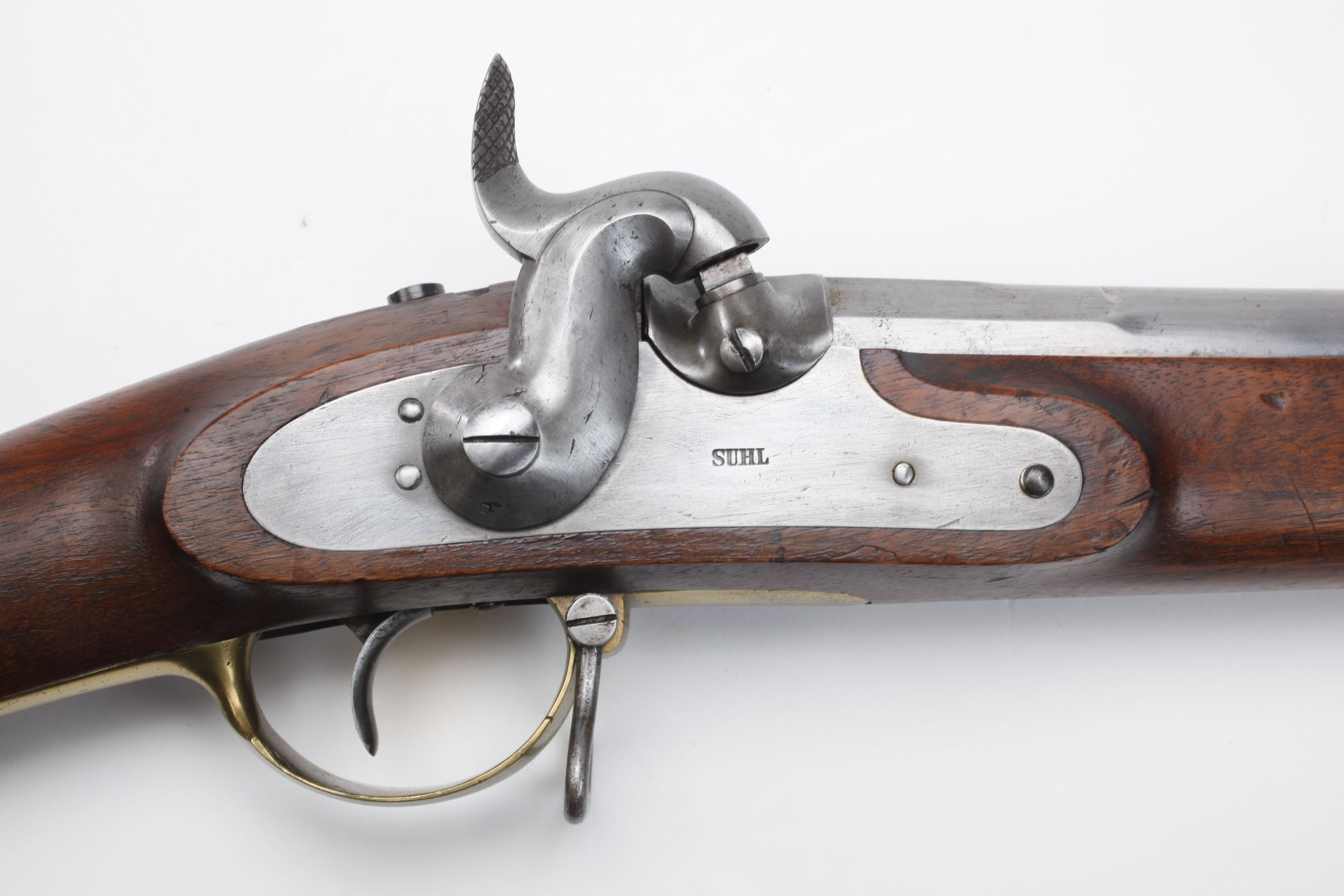 Suhl Model 1839 Muzzleloading Percussion Musket