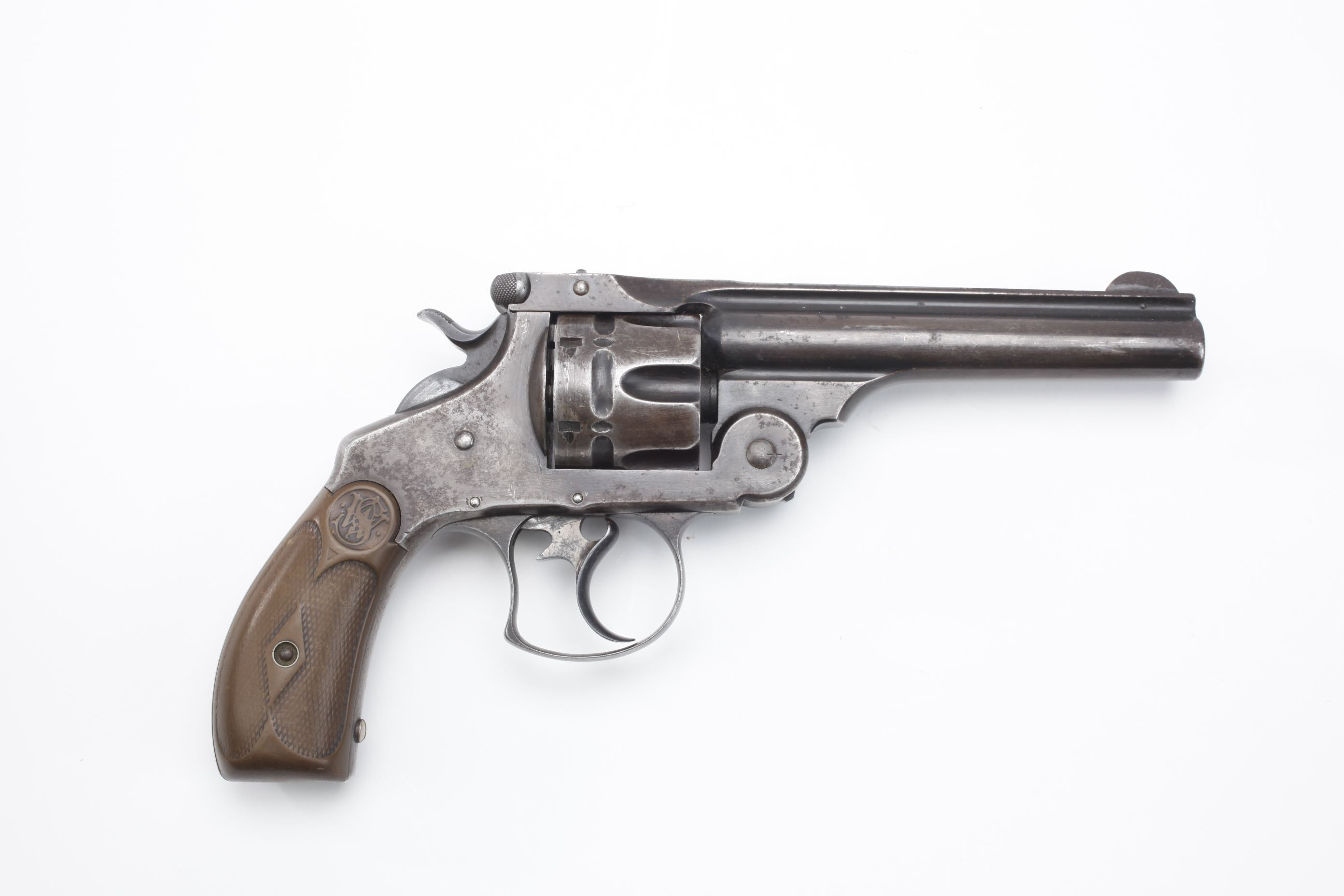 Smith & Wesson 44 Double Action First Model Revolver (1)