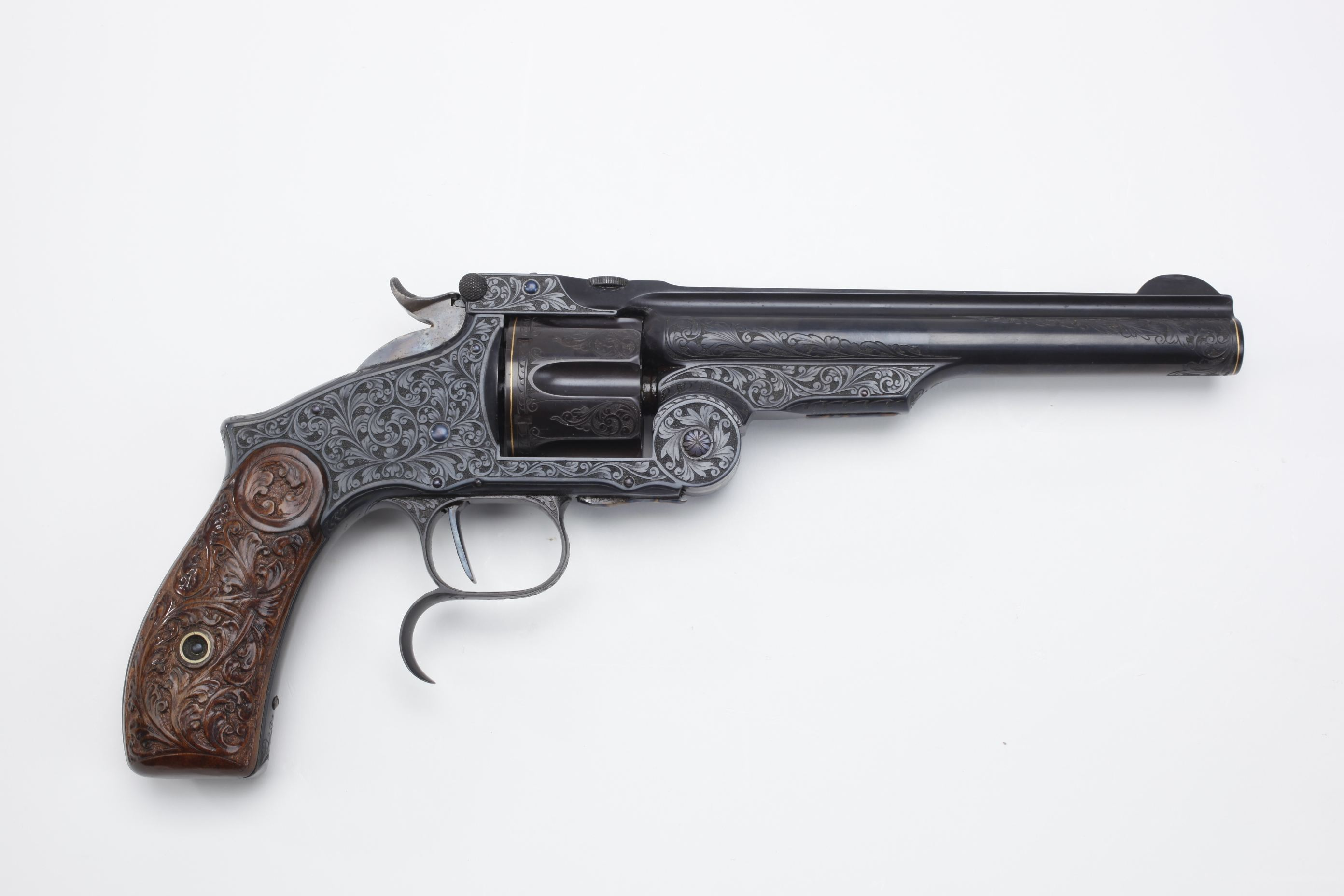 Smith and Wesson Model 3 Russian revolver