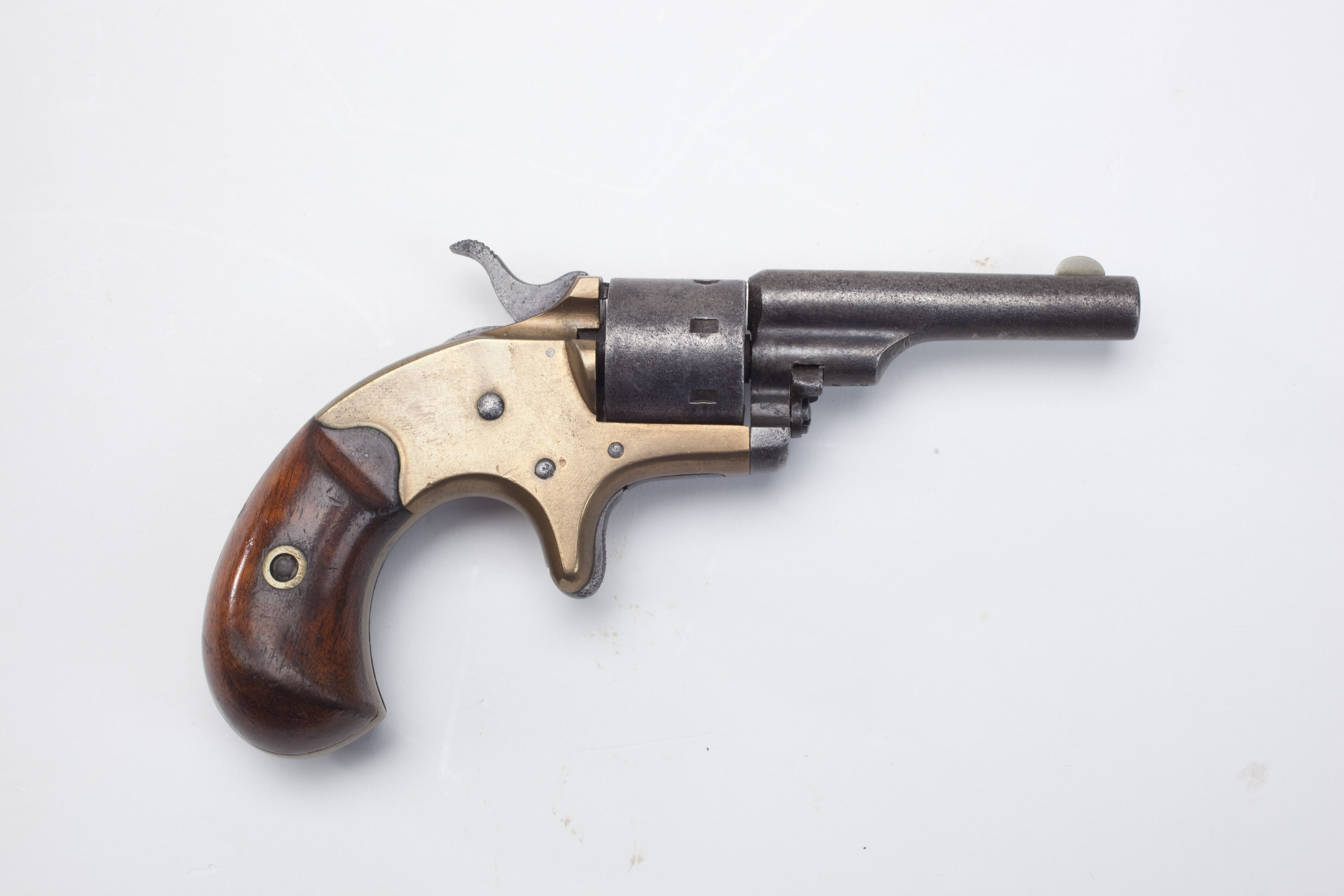 Colt Open Top Pocket Model revolver