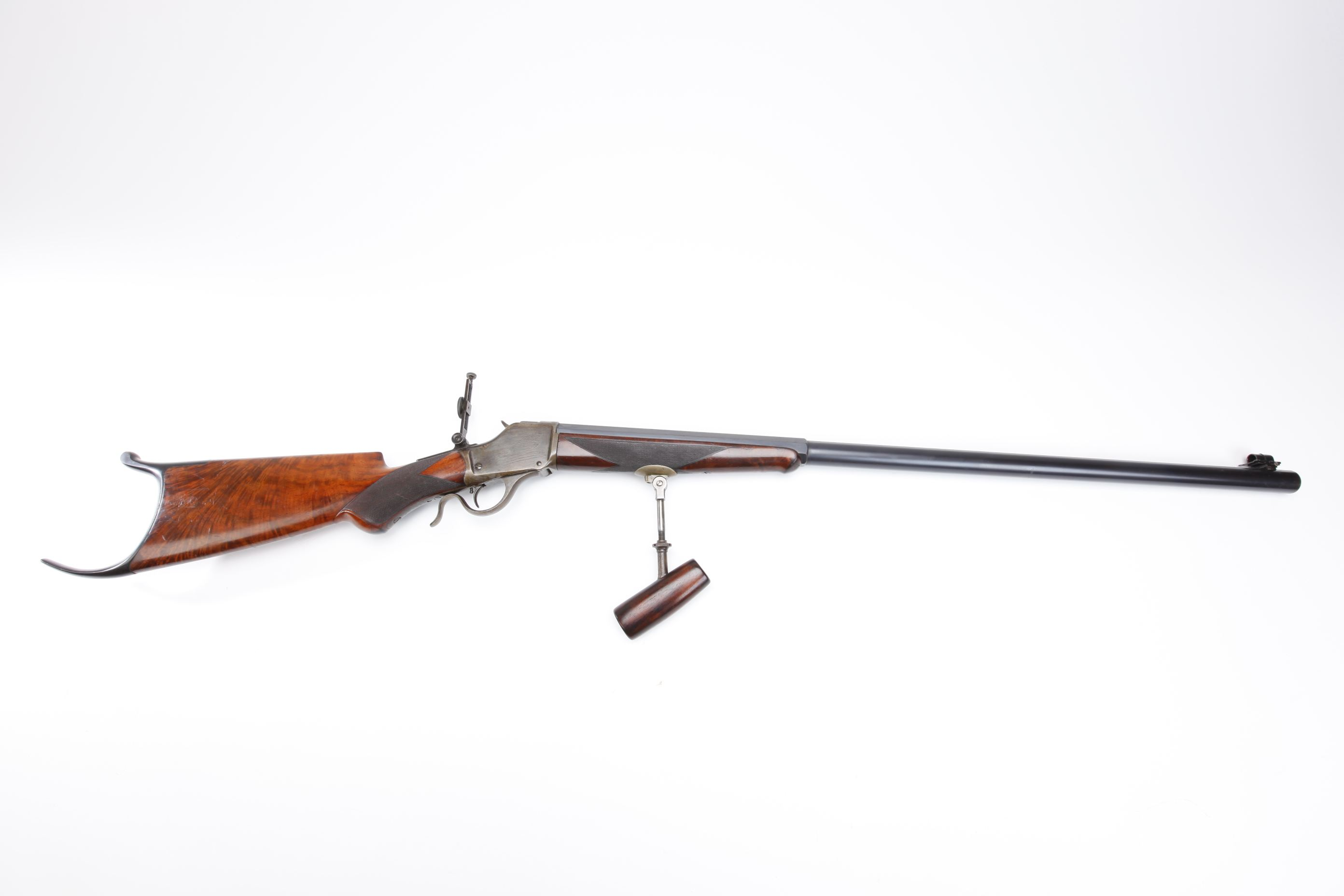 Winchester Model 1885 Schuetzen Rifle