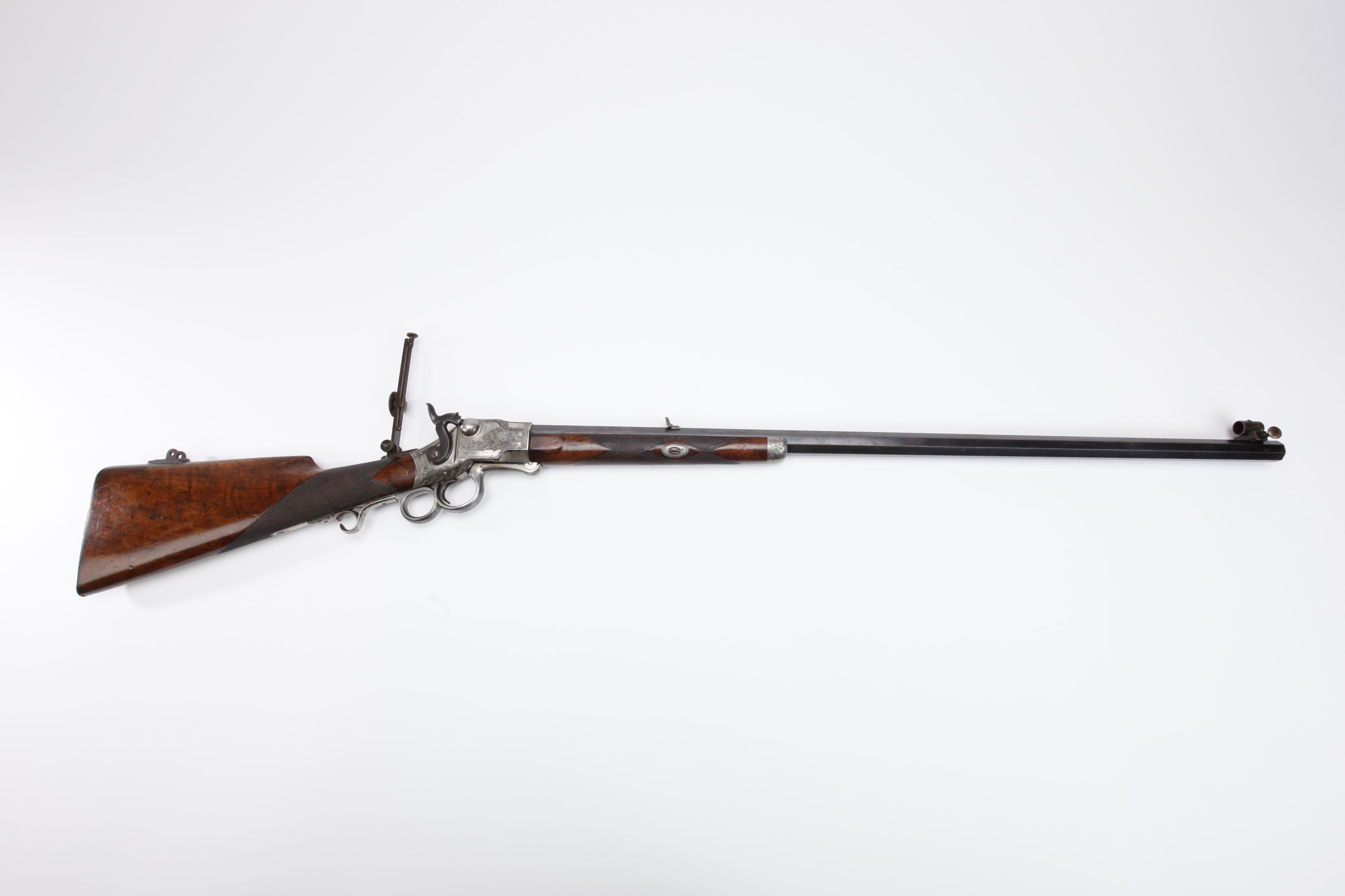 Frank Wesson No 2 Mid Range Underlever Rifle