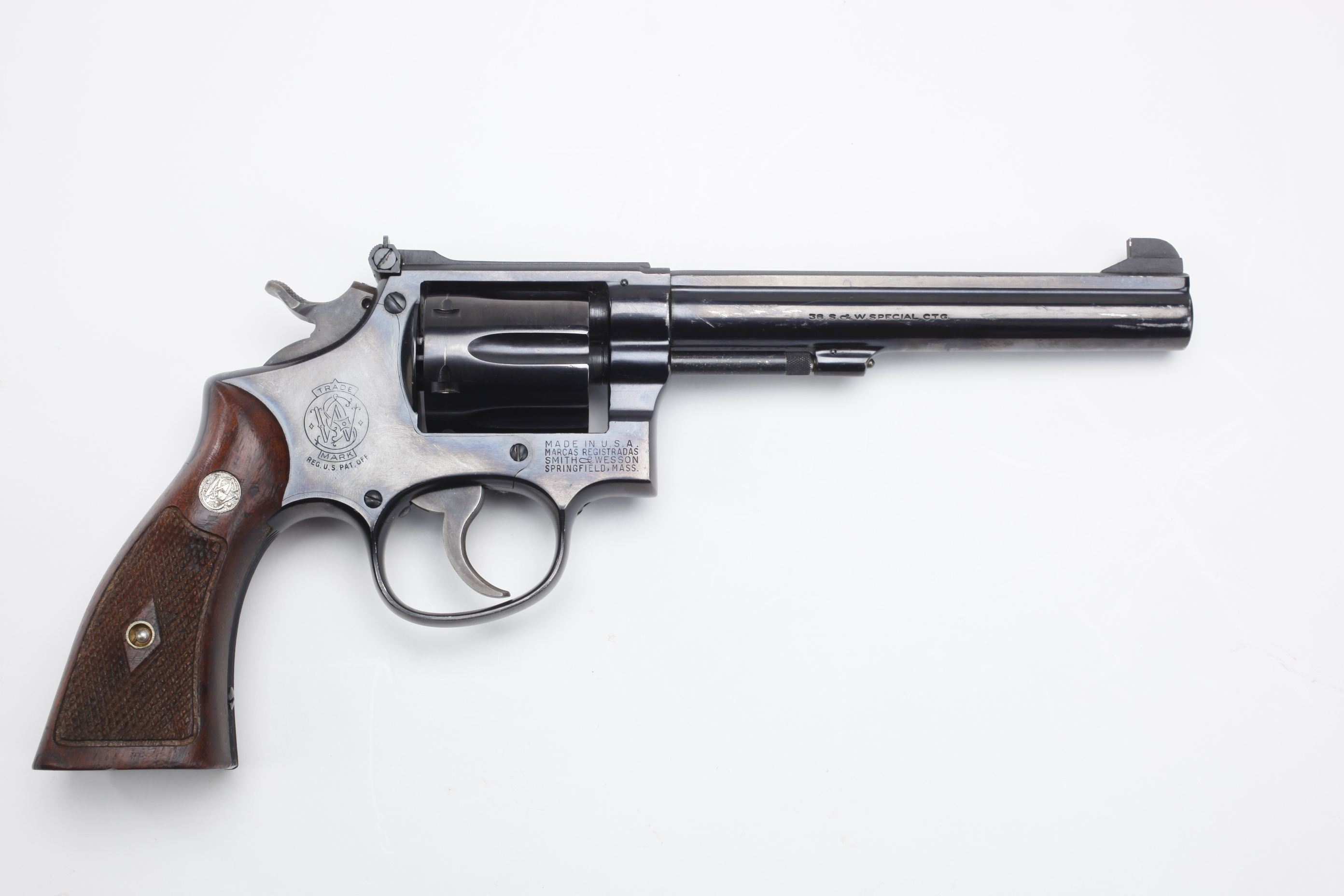 Smith & Wesson Model 14 Target Masterpiece