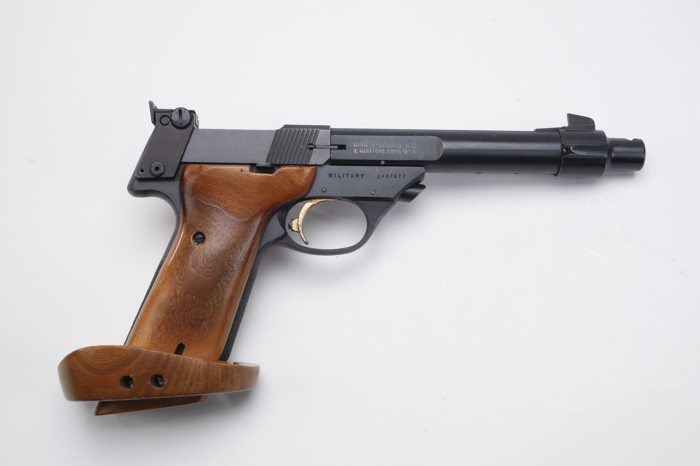 High Standard Trophy Semi Automatic Pistol