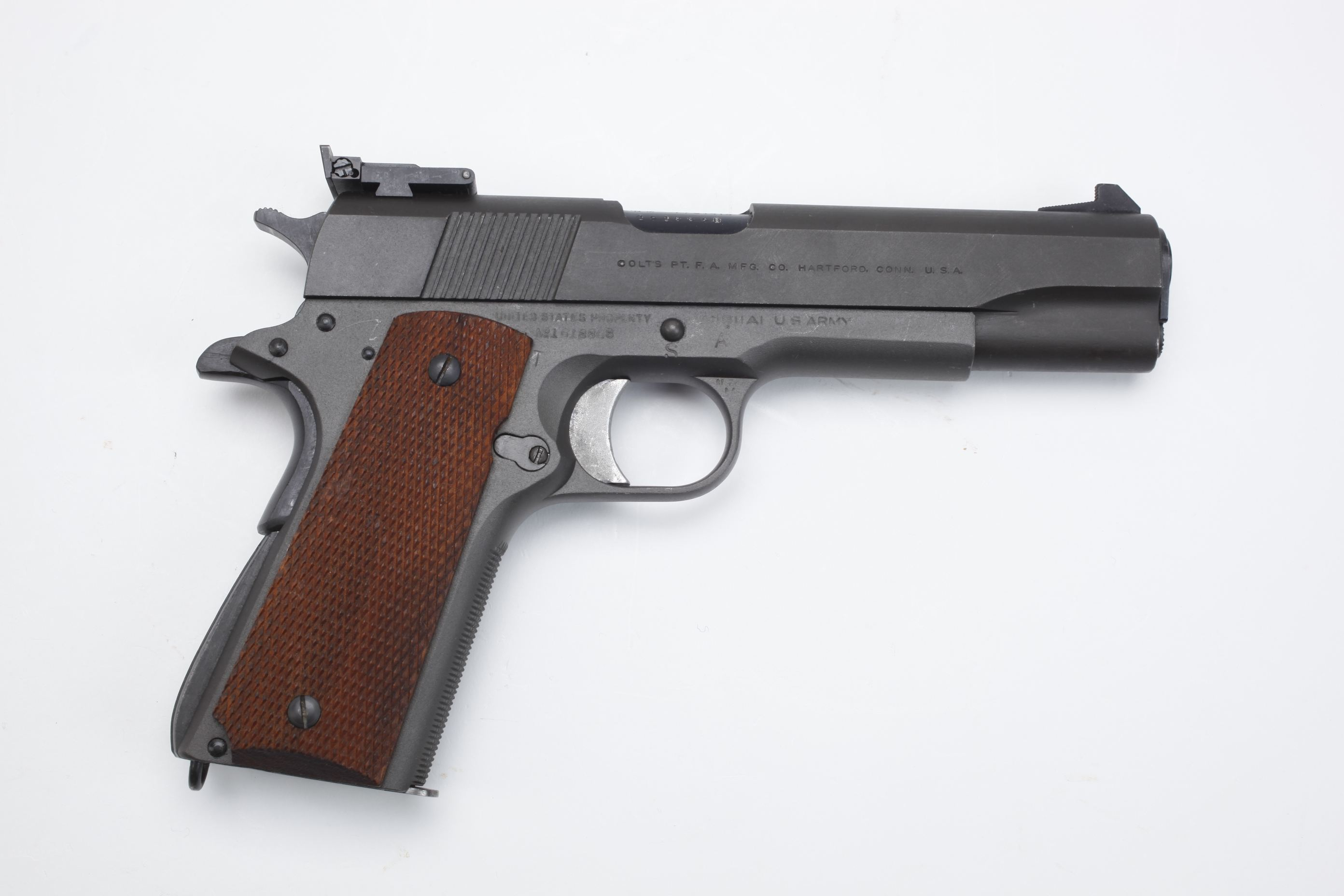 U.S. Colt Model 1911A1 National Match Semi Automatic Pistol