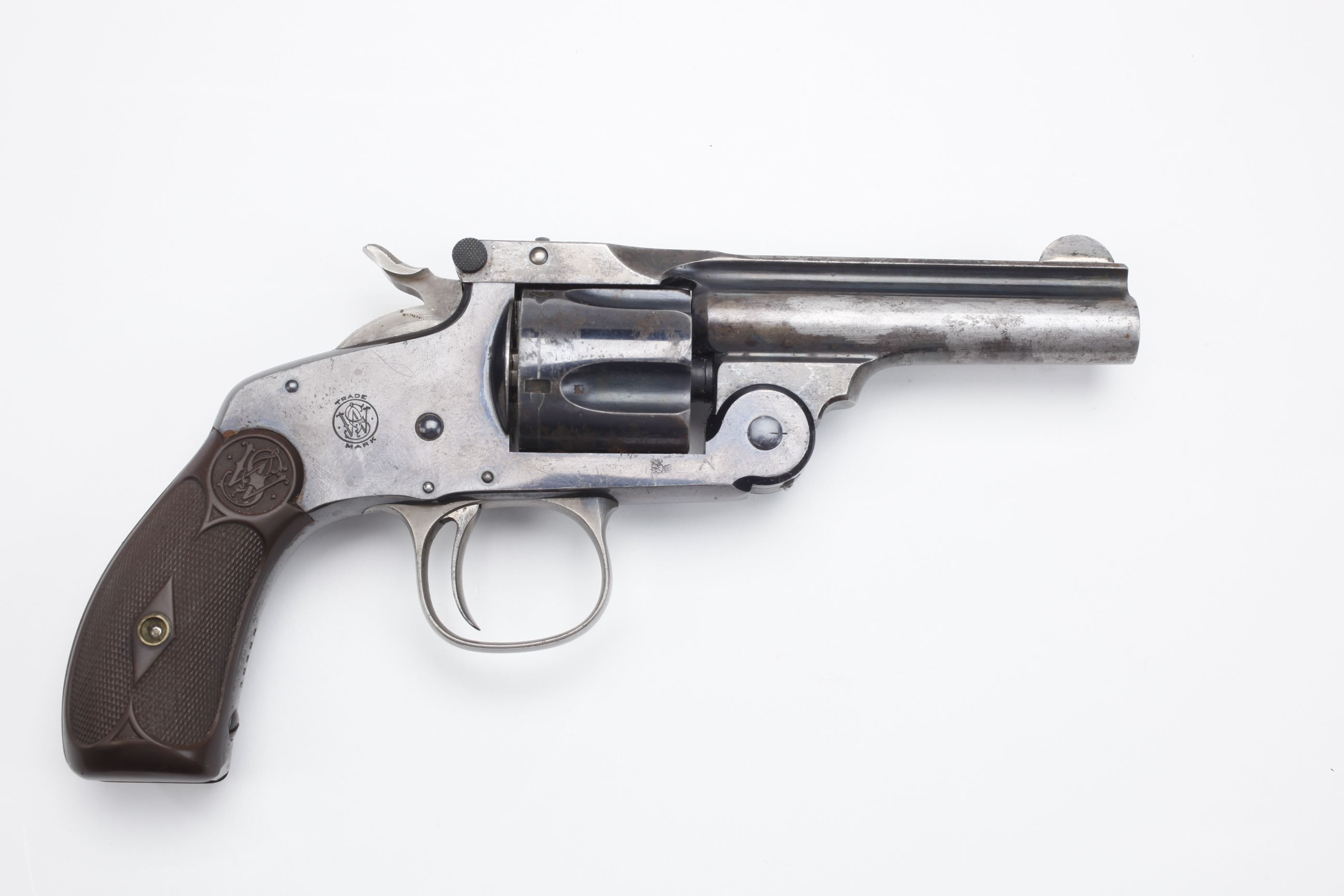 Smith & Wesson 38 Single Action Third Model Revolver