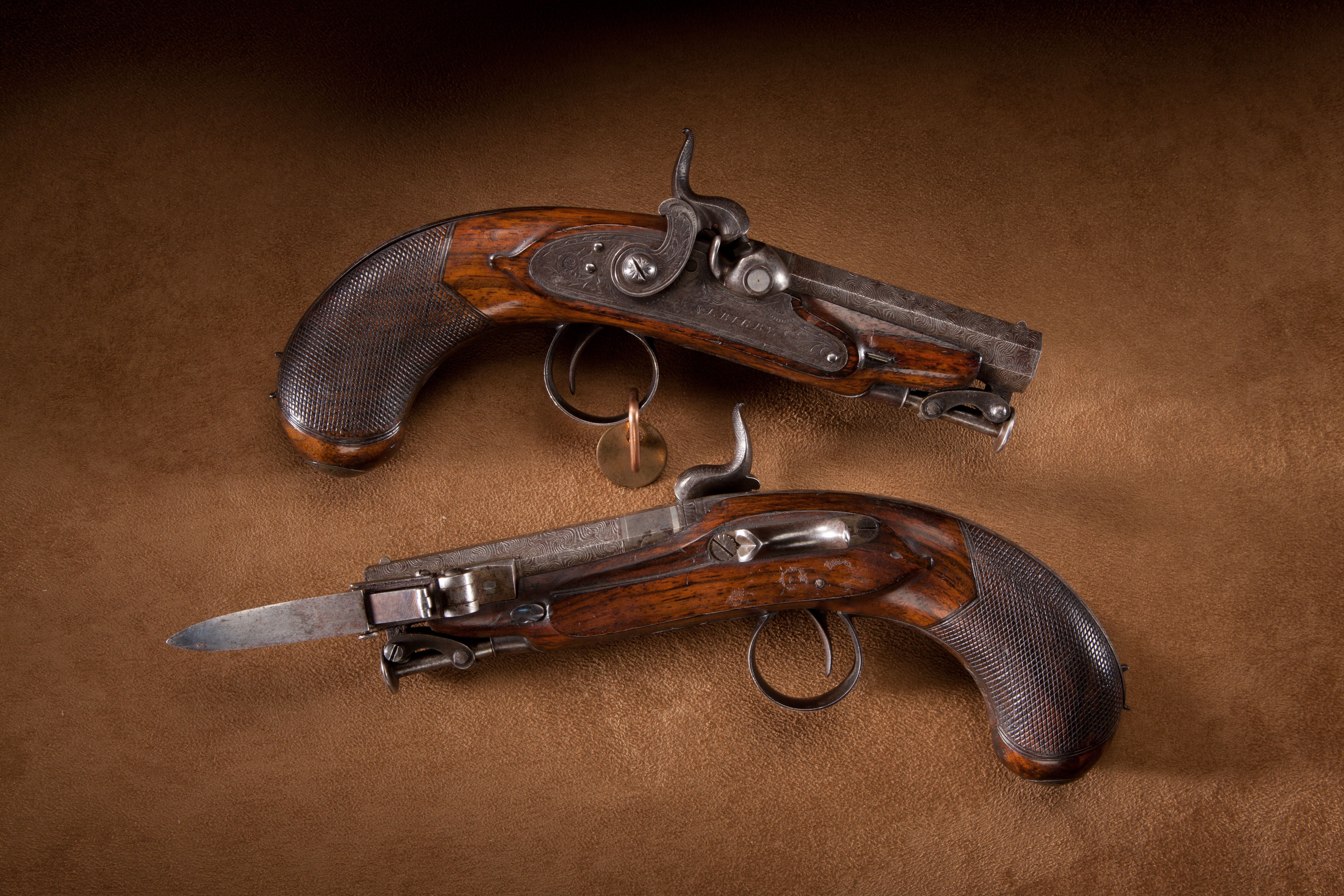Rigby Great Coat Pistols