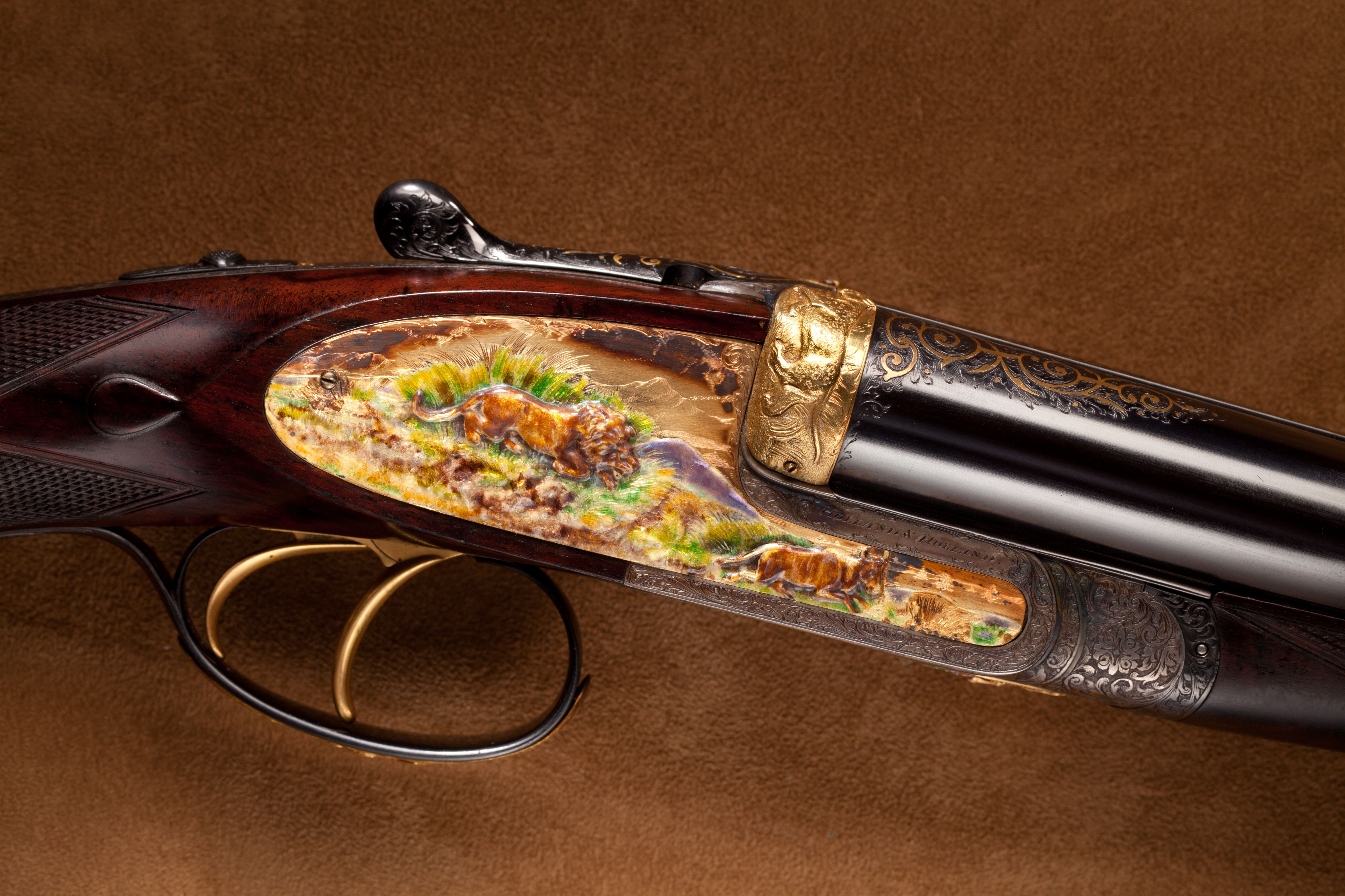 Holland & Holland Double Rifle - .465 Nitro Rim cal.