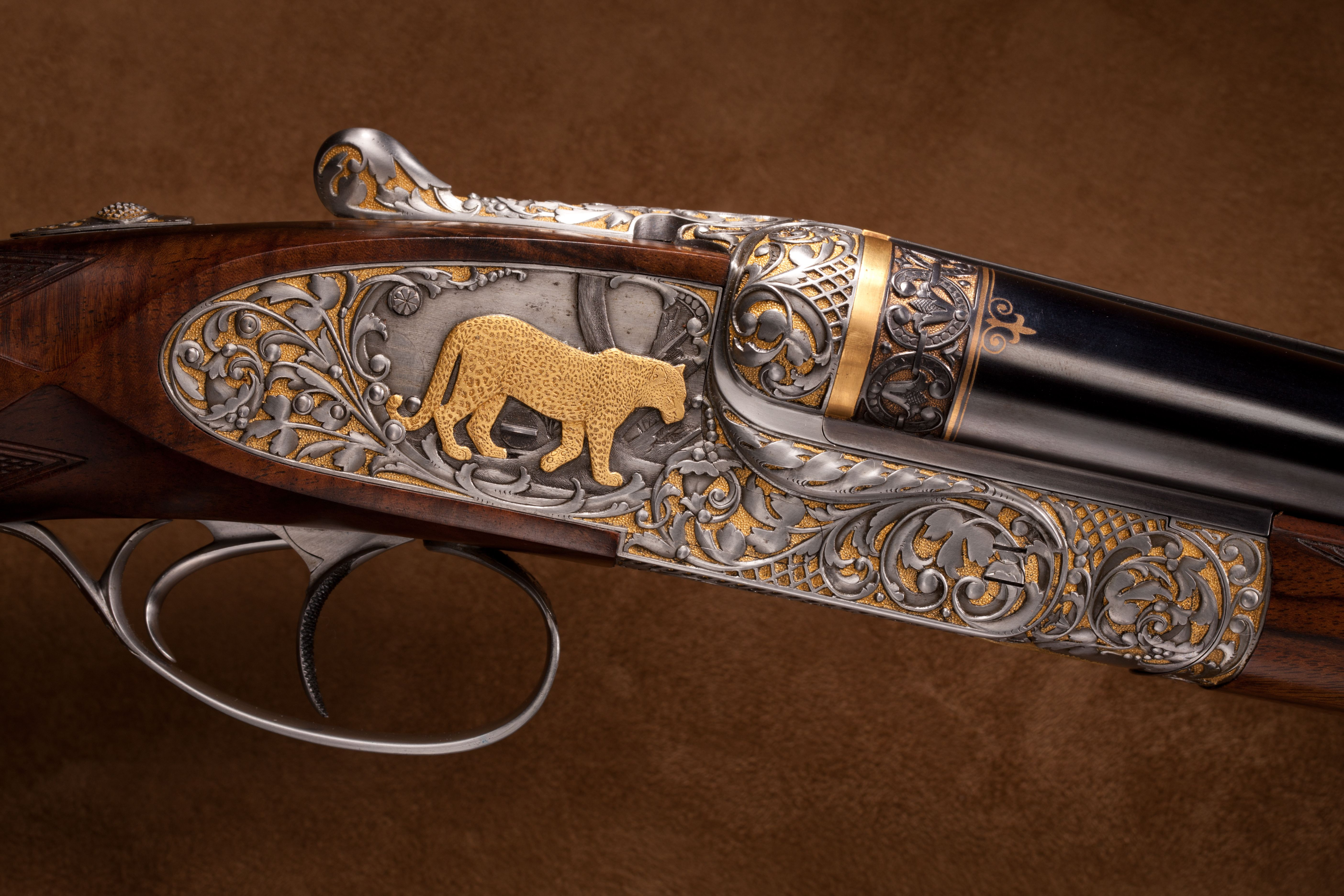 Holland & Holland Double Rifle -.375 H&H Magnum cal.