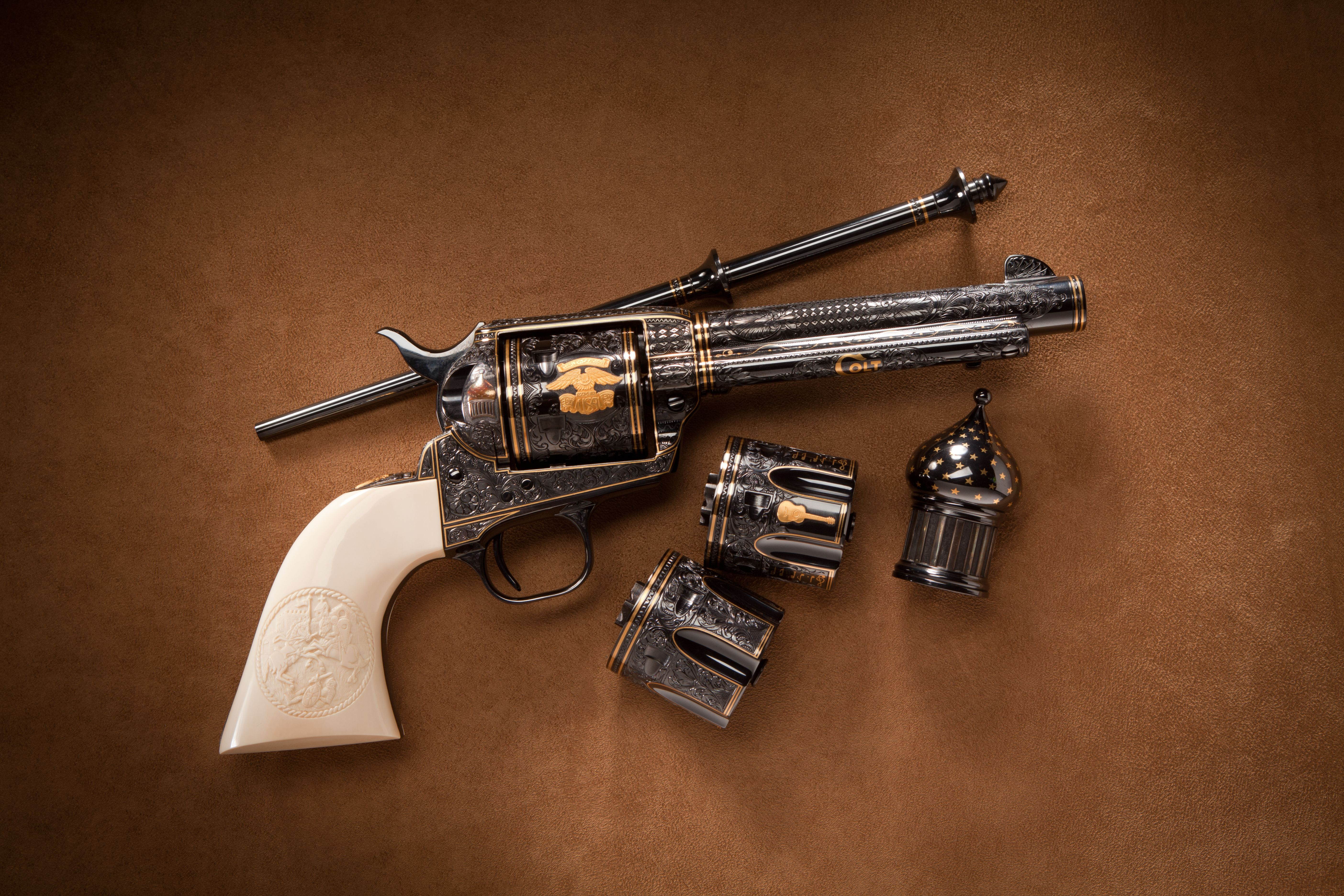 Al DeJohn's Colt Single Action Army Revolver