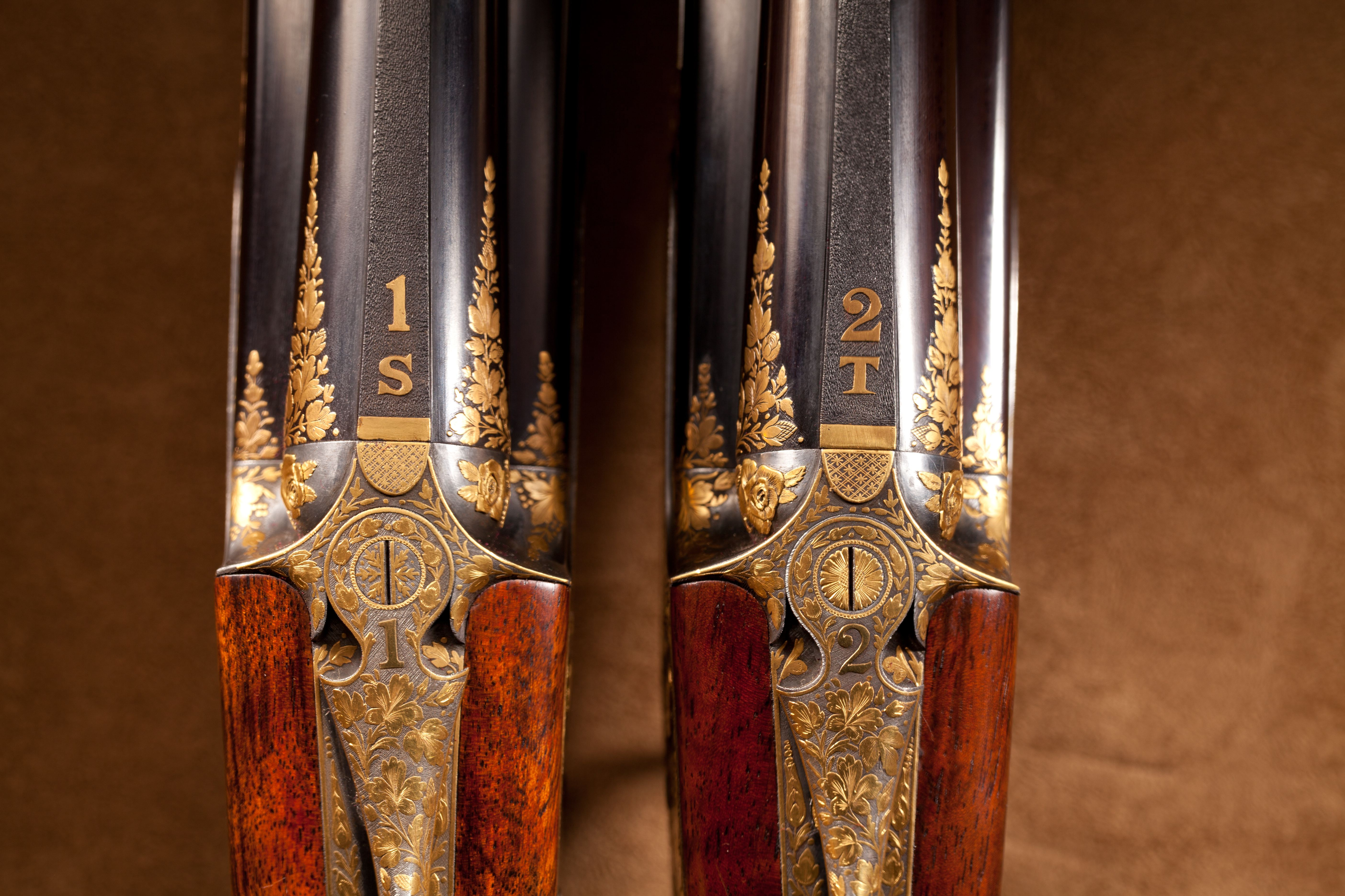 Pair of Purdey Over-Under Shotguns - 12 ga.