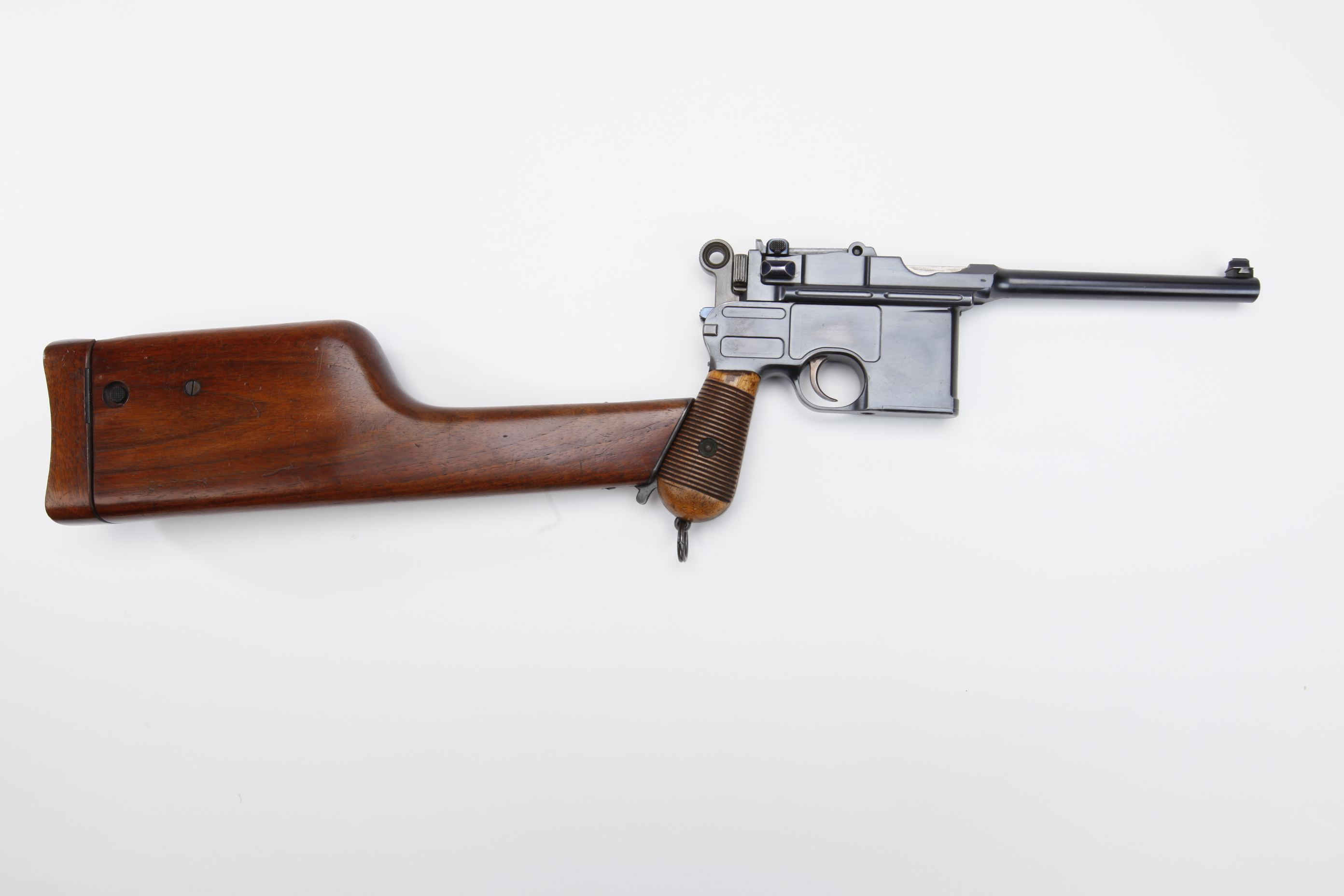 Mauser Model 1896 Broomhandle Semi Automatic Pistol