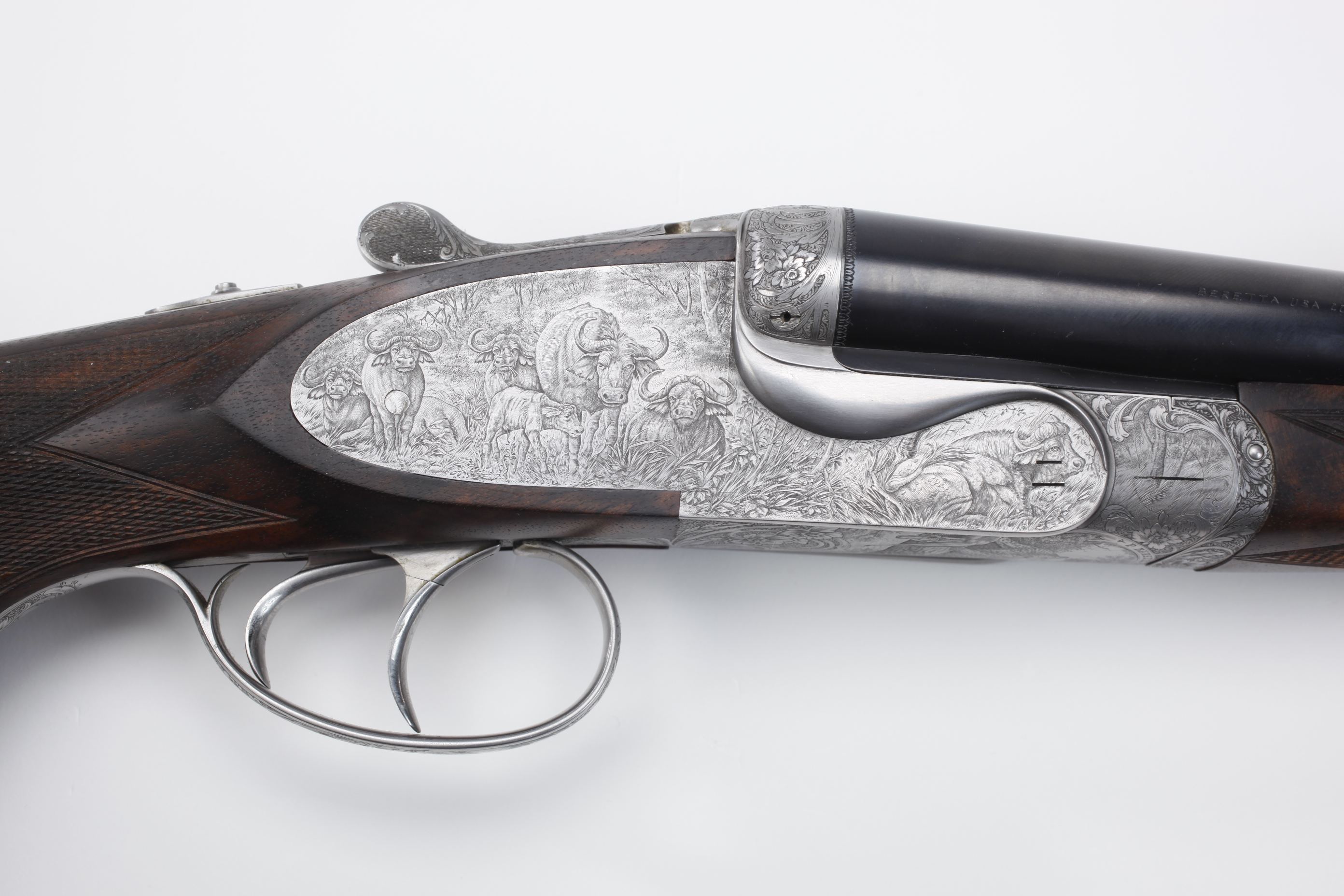 Pietro Beretta (Brescia, Italy) Set of Four Rifles - The Cape Buffalo