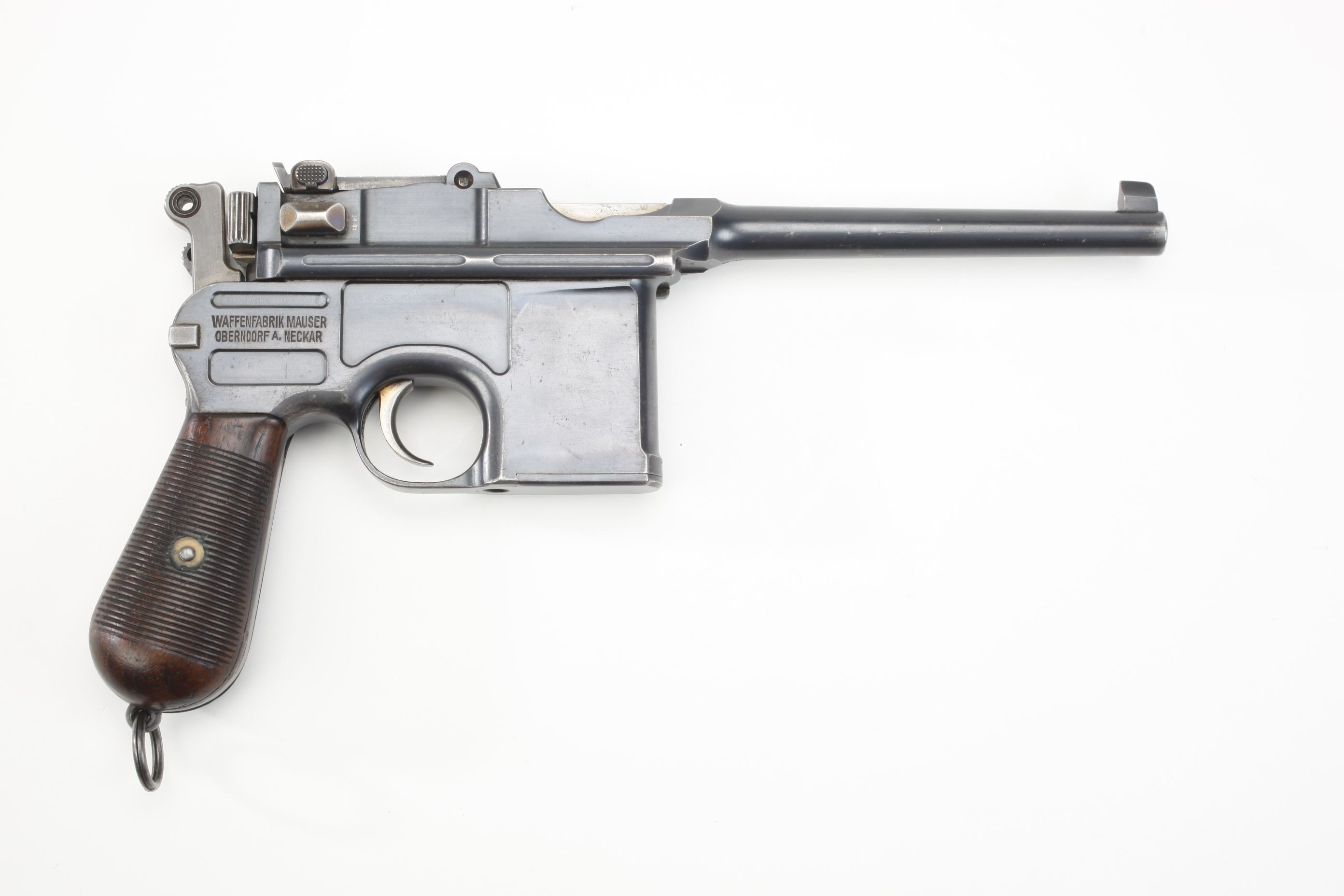 Mauser Model 1896 Broomhandle Export Semi Automatic Pistol