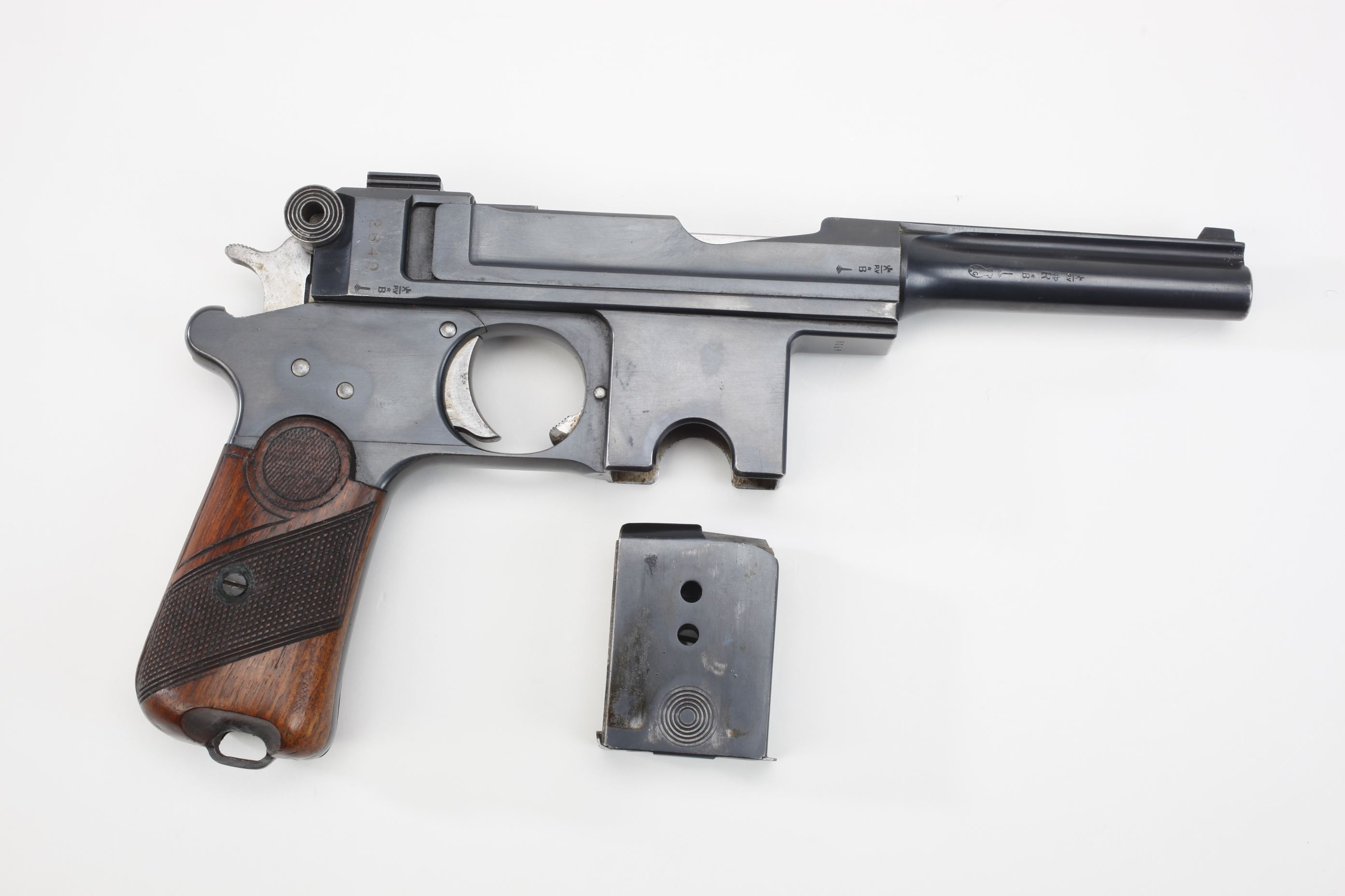 Anciens Establissements Pieper Model 1910 Bergmann Bayard SA Pistol