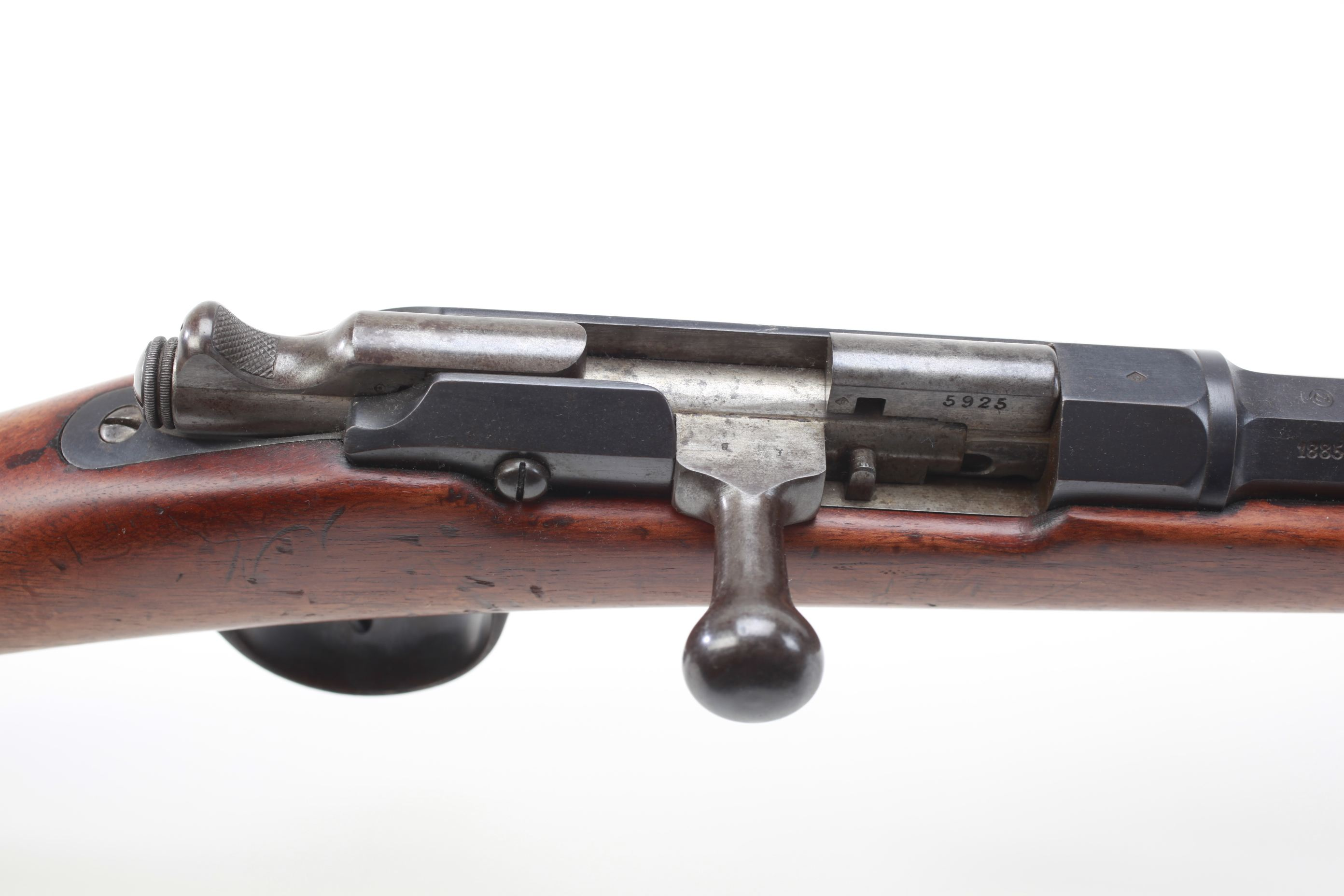 Waffenfabrik Steyr Model 1874 Gras Bolt Action Rifle