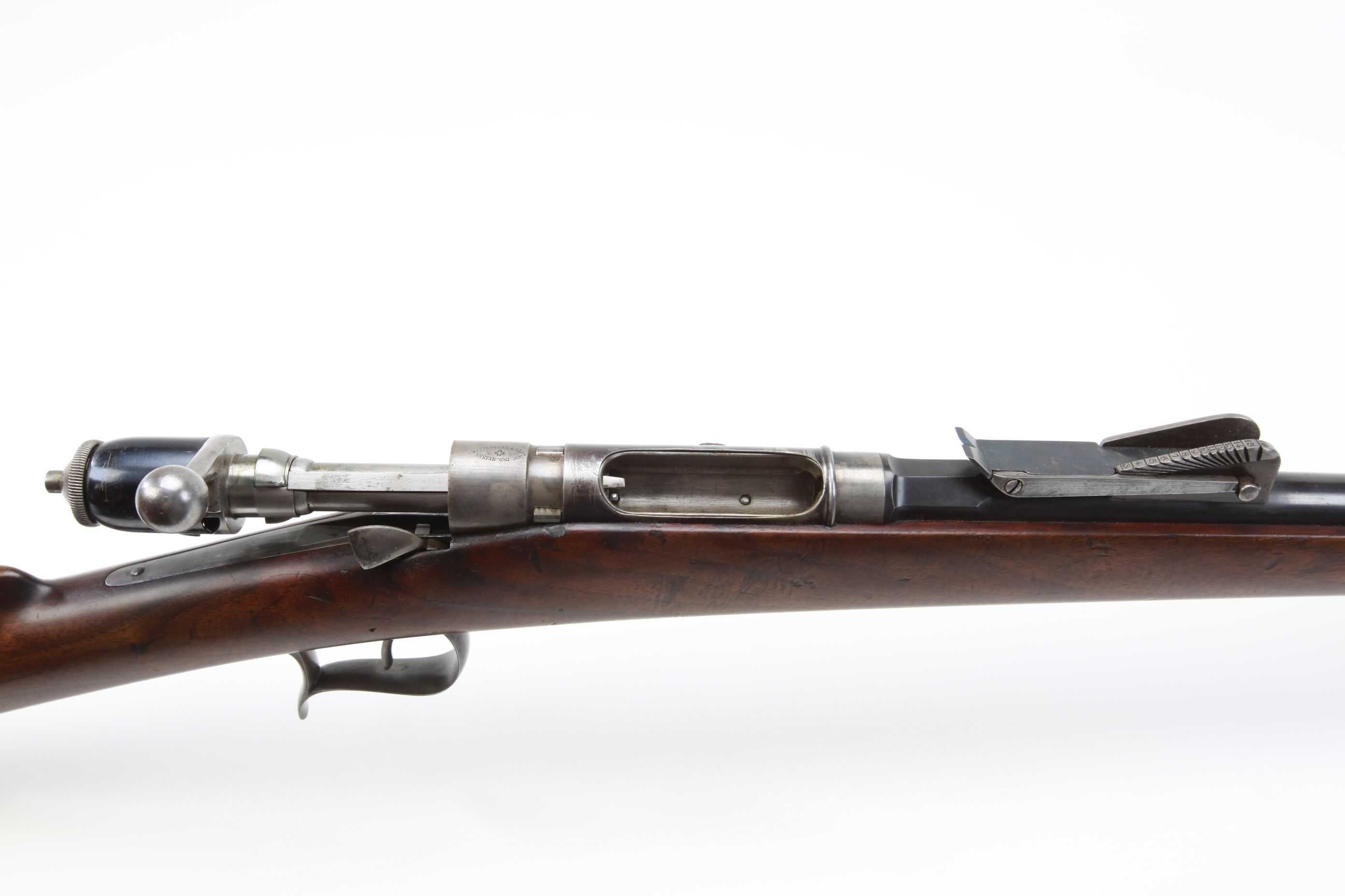 Societe Industrial Suisse Model 1871 Vetterli Bolt Action Rifle
