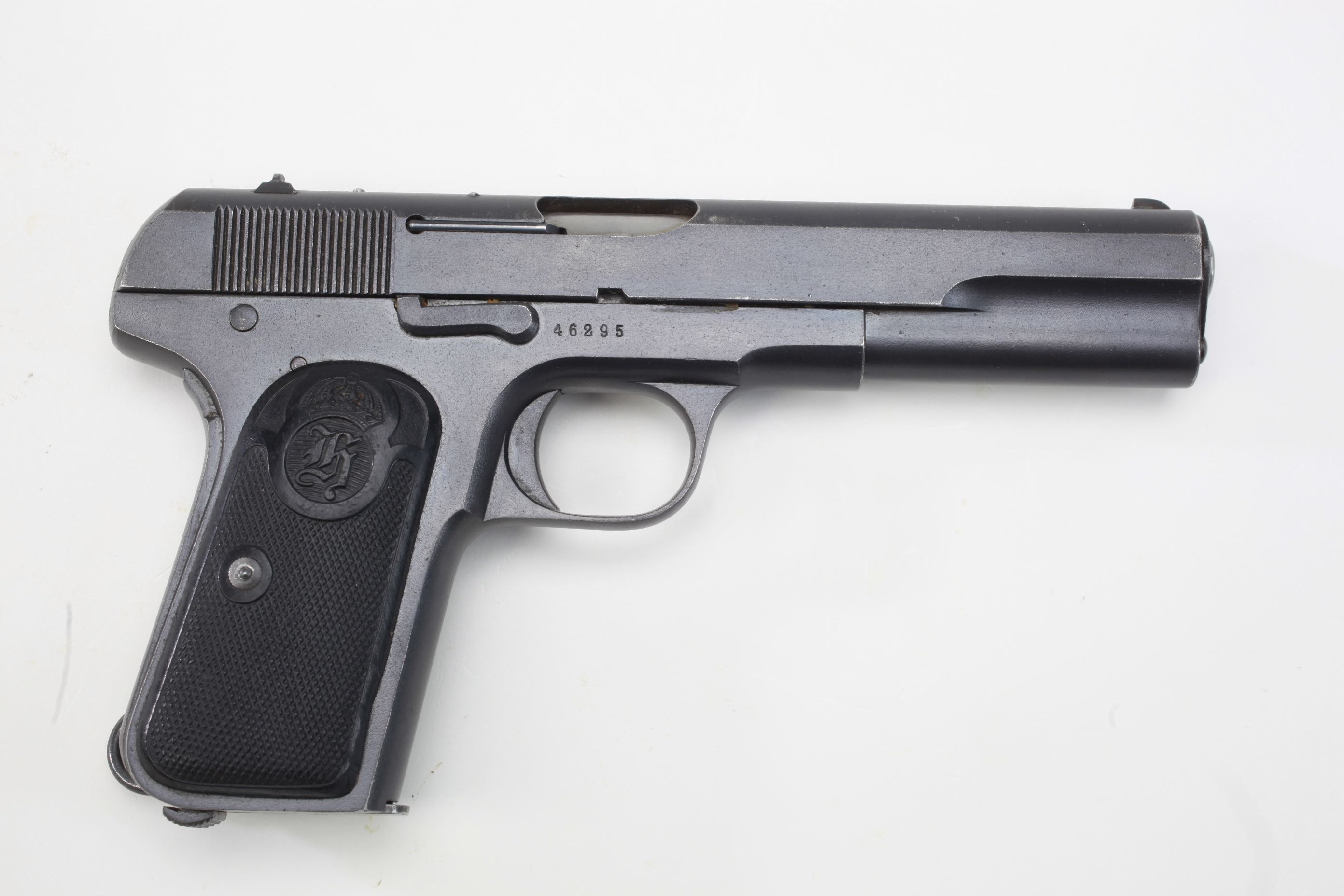 Husqvarna Model 1903 Semi Automatic Pistol