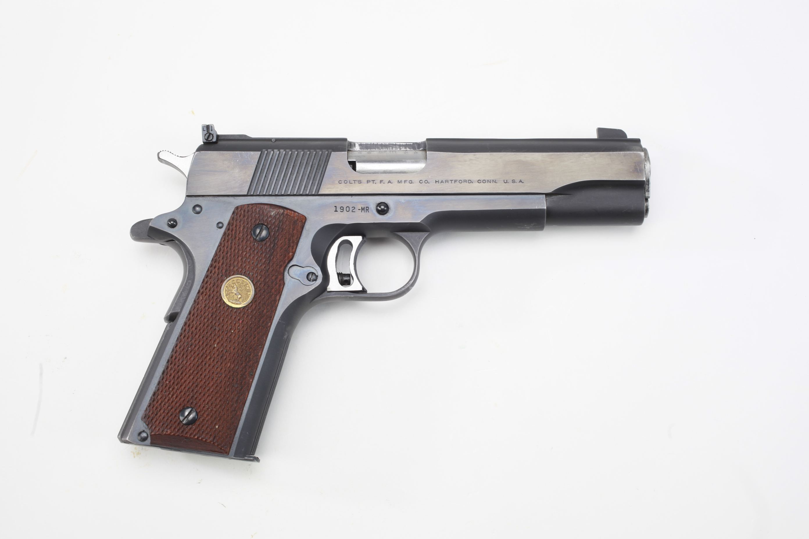 Colt Gold Cup Mark III Semi Automatic Pistol