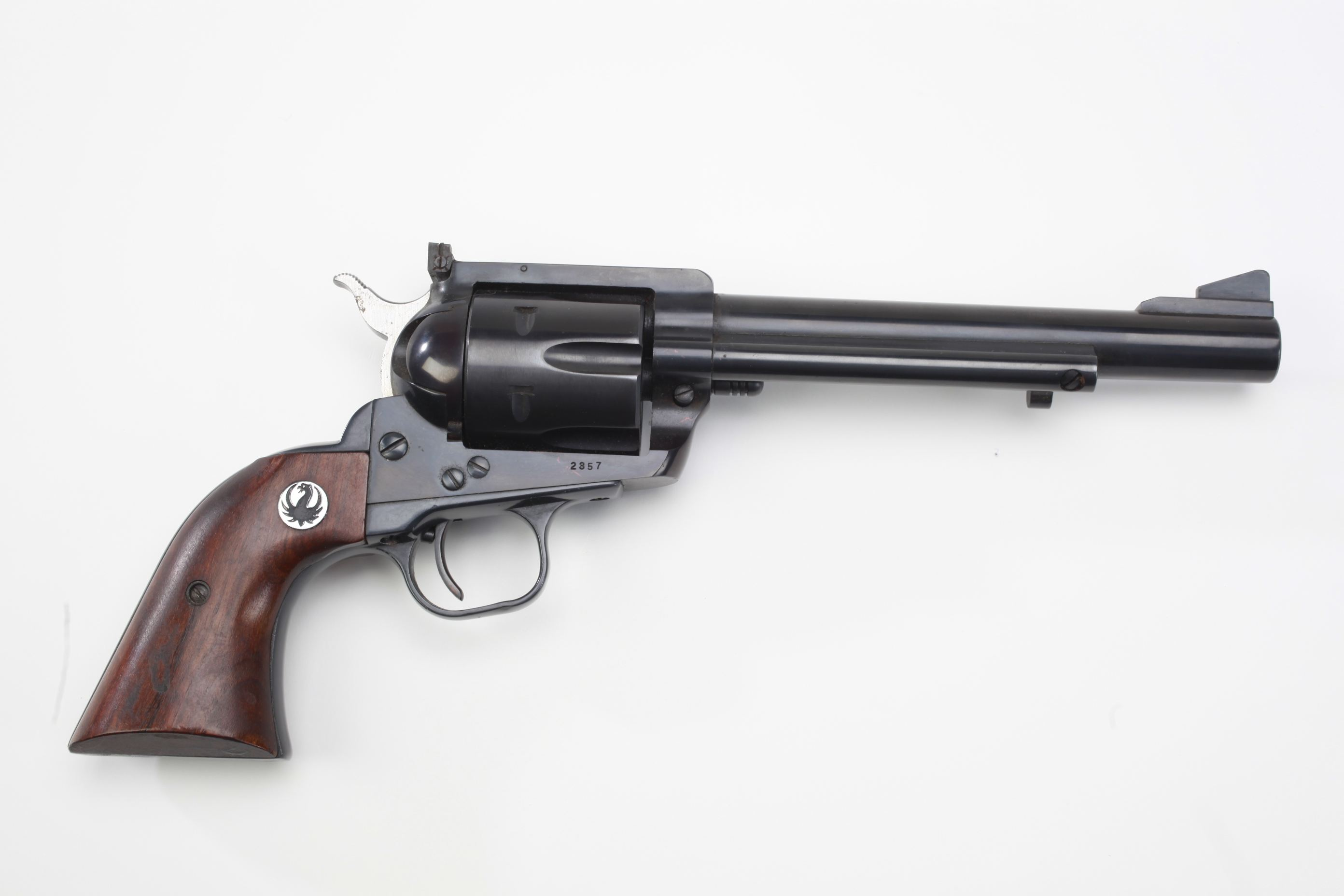 Ruger and Co Old Model Blackhawk revolver