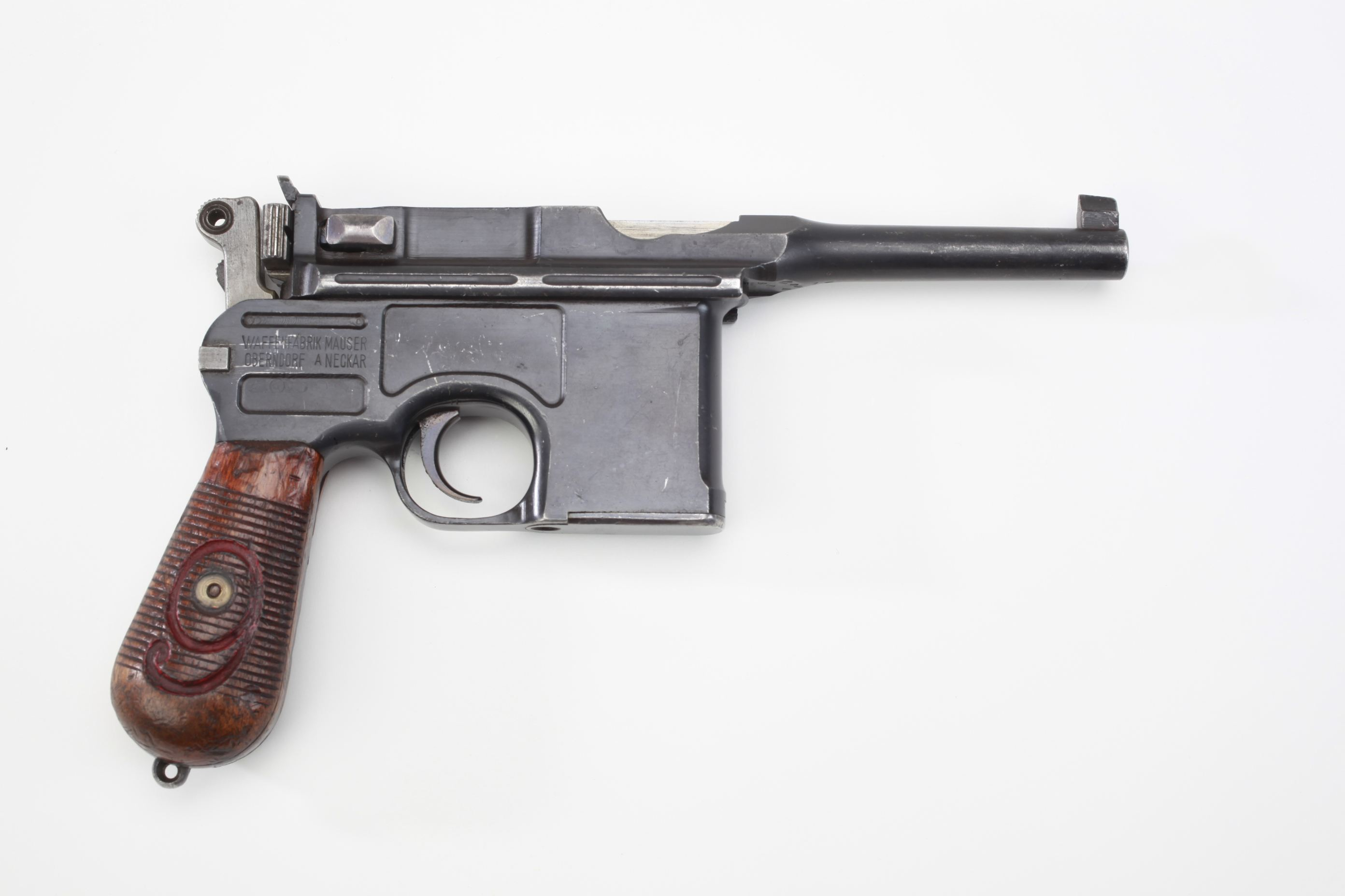 Mauser Model 1896 Broomhandle Military Semi Automatic Pistol