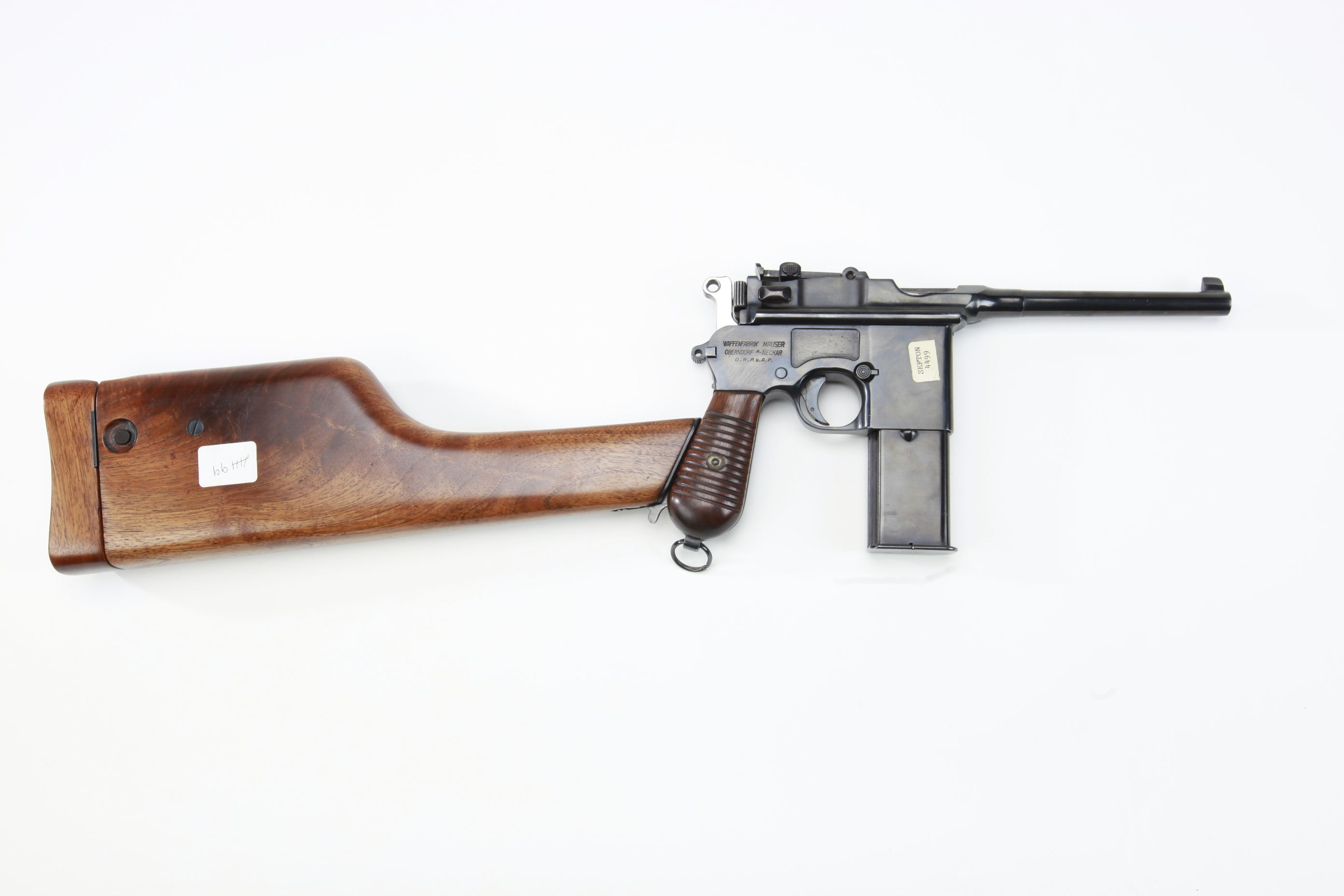 "Mauser Model 712 ""Schnellfeuer"" Machine Pistol"