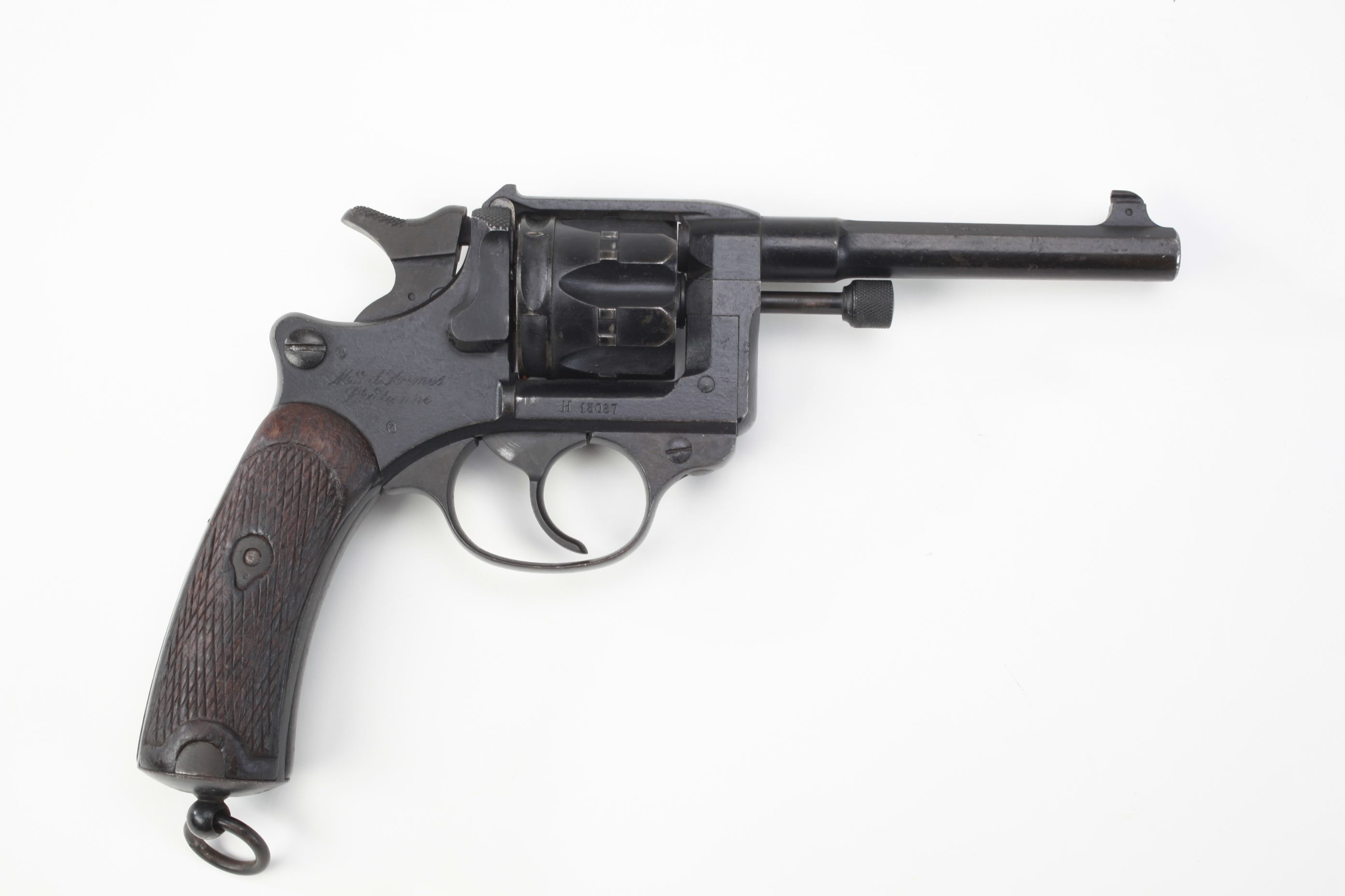 St Etienne Nagant Model 1892 Double Action Ordnance Revolver