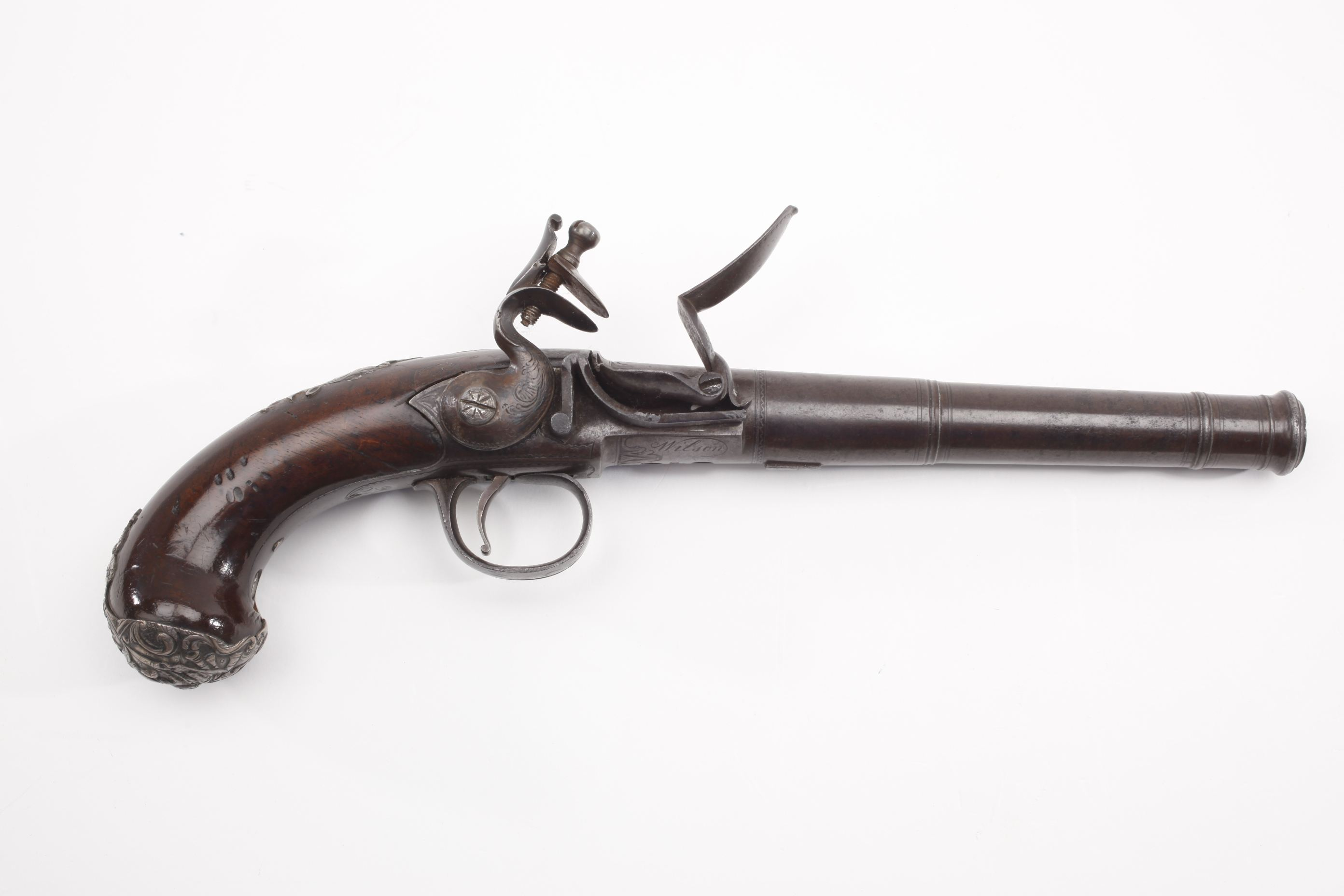 British Queen Anne Flintlock Pistol