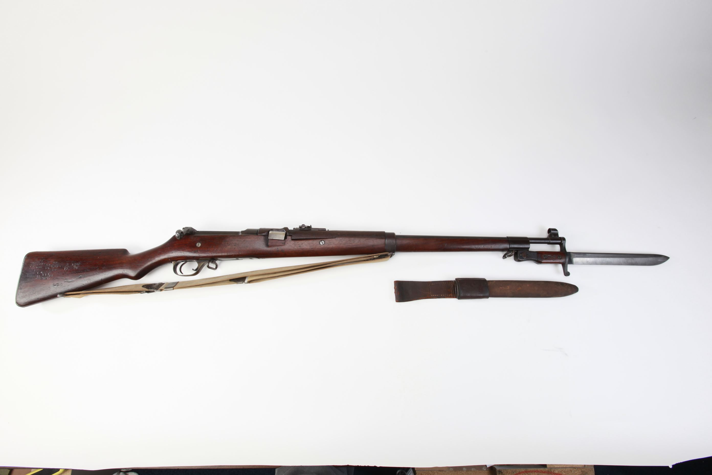 Ross Model 1905 Straight Pull Bolt Action Rifle