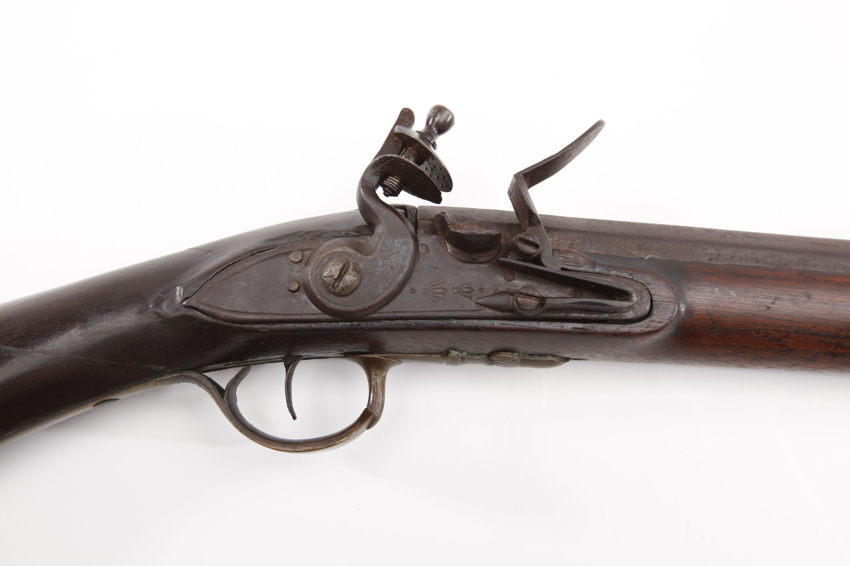 Dutch English Club Butt Flintlock Musket