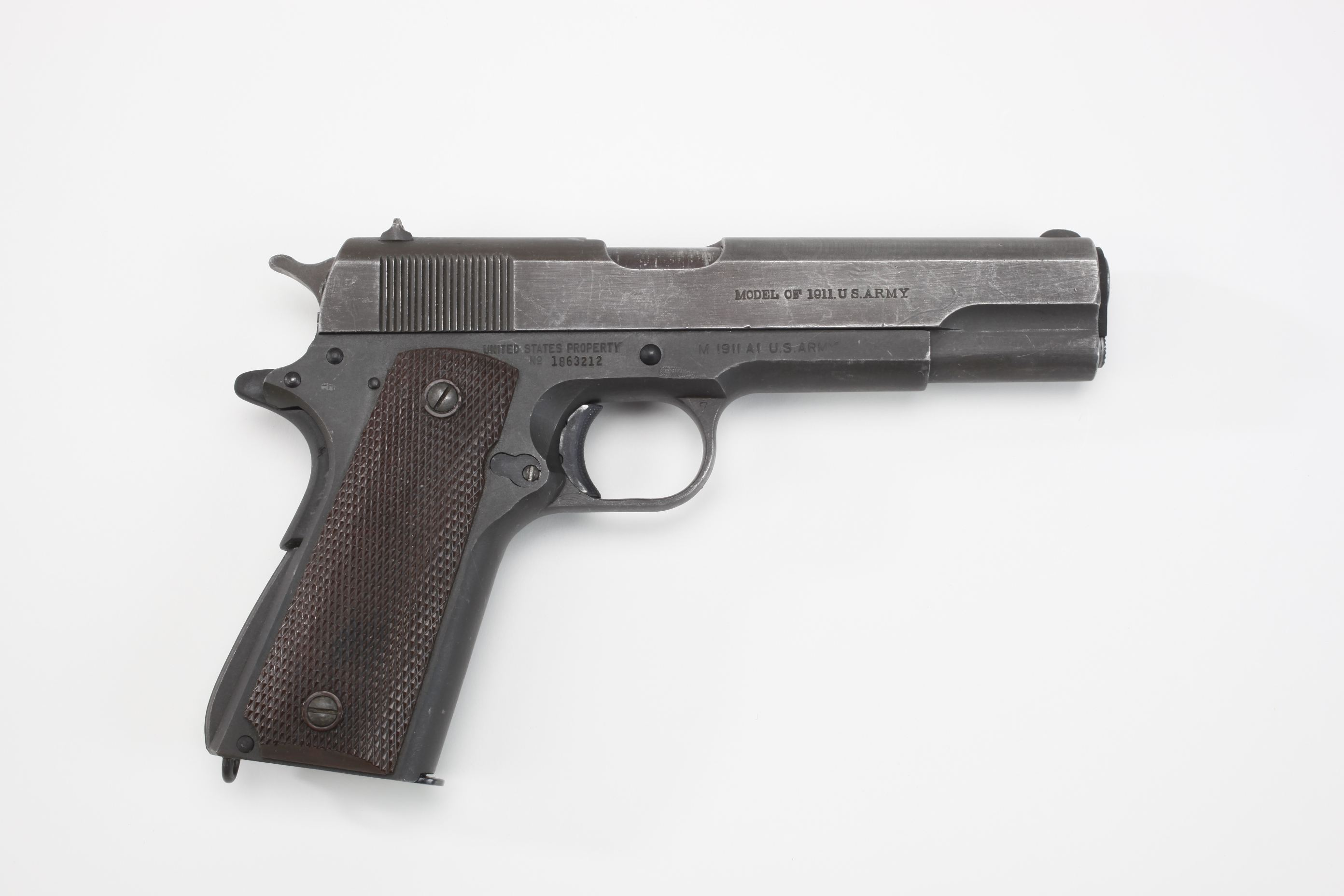 U.S. Ithaca Model 1911A1 Semi Automatic Pistol