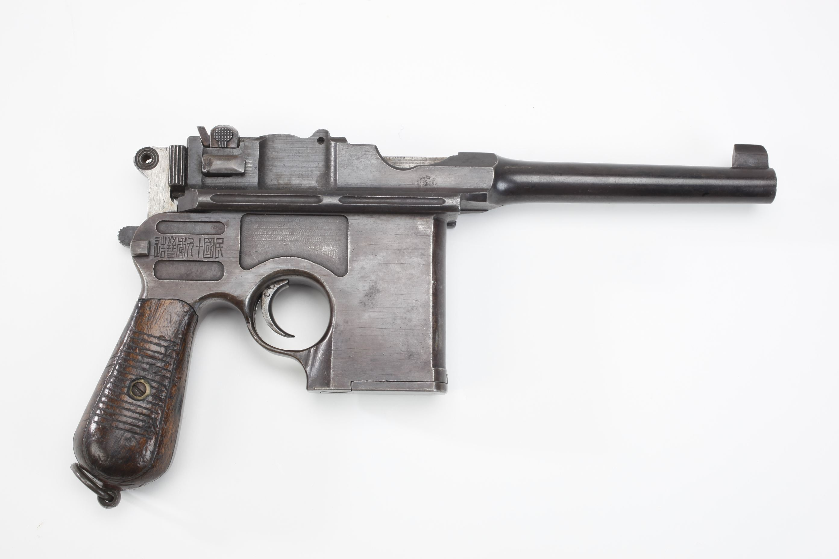 Shangshei Arsenal Mauser Model 1896 Broomhandle Semi Automatic Pistol