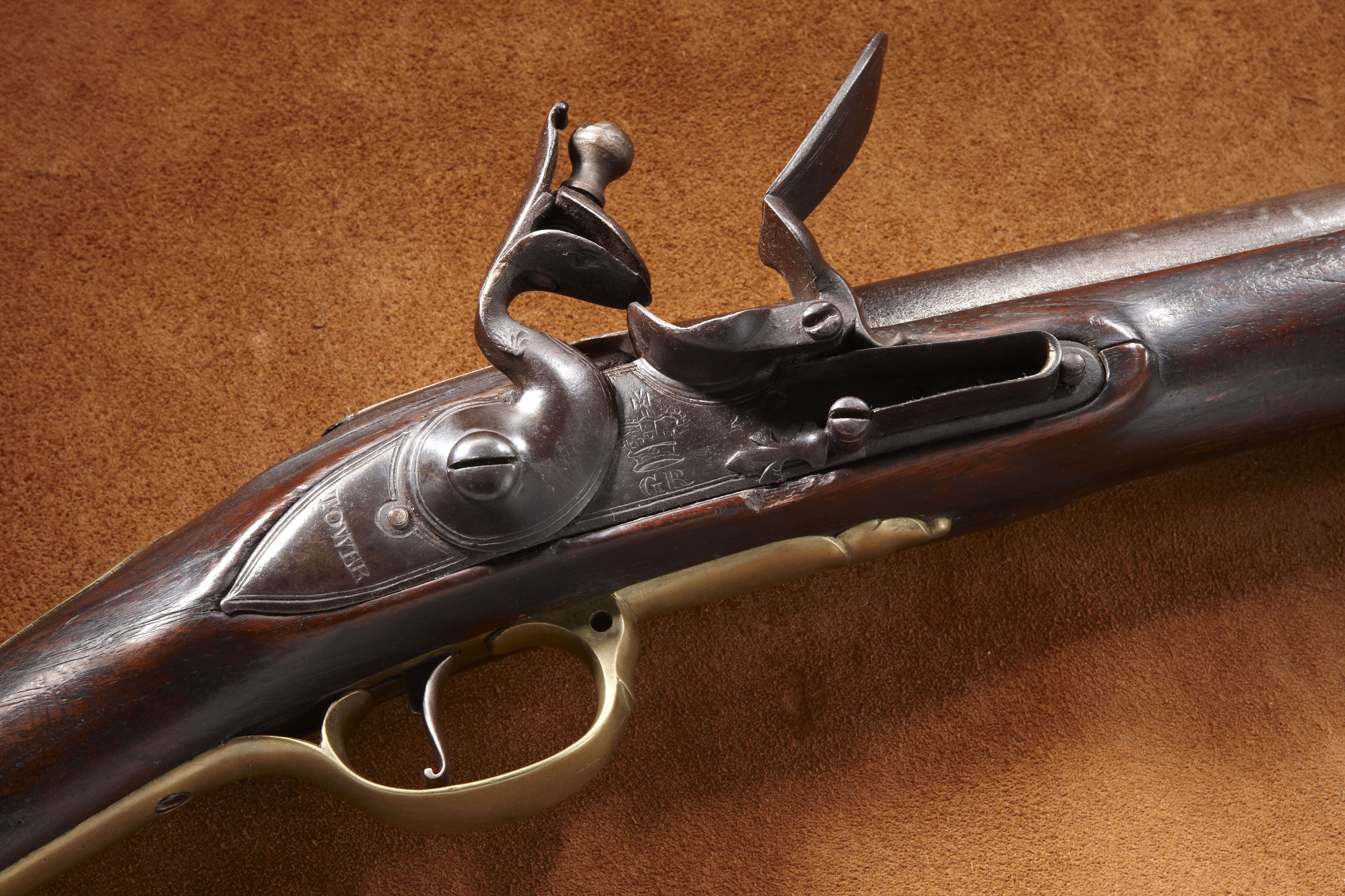 Brown Bess Flintlock Musket