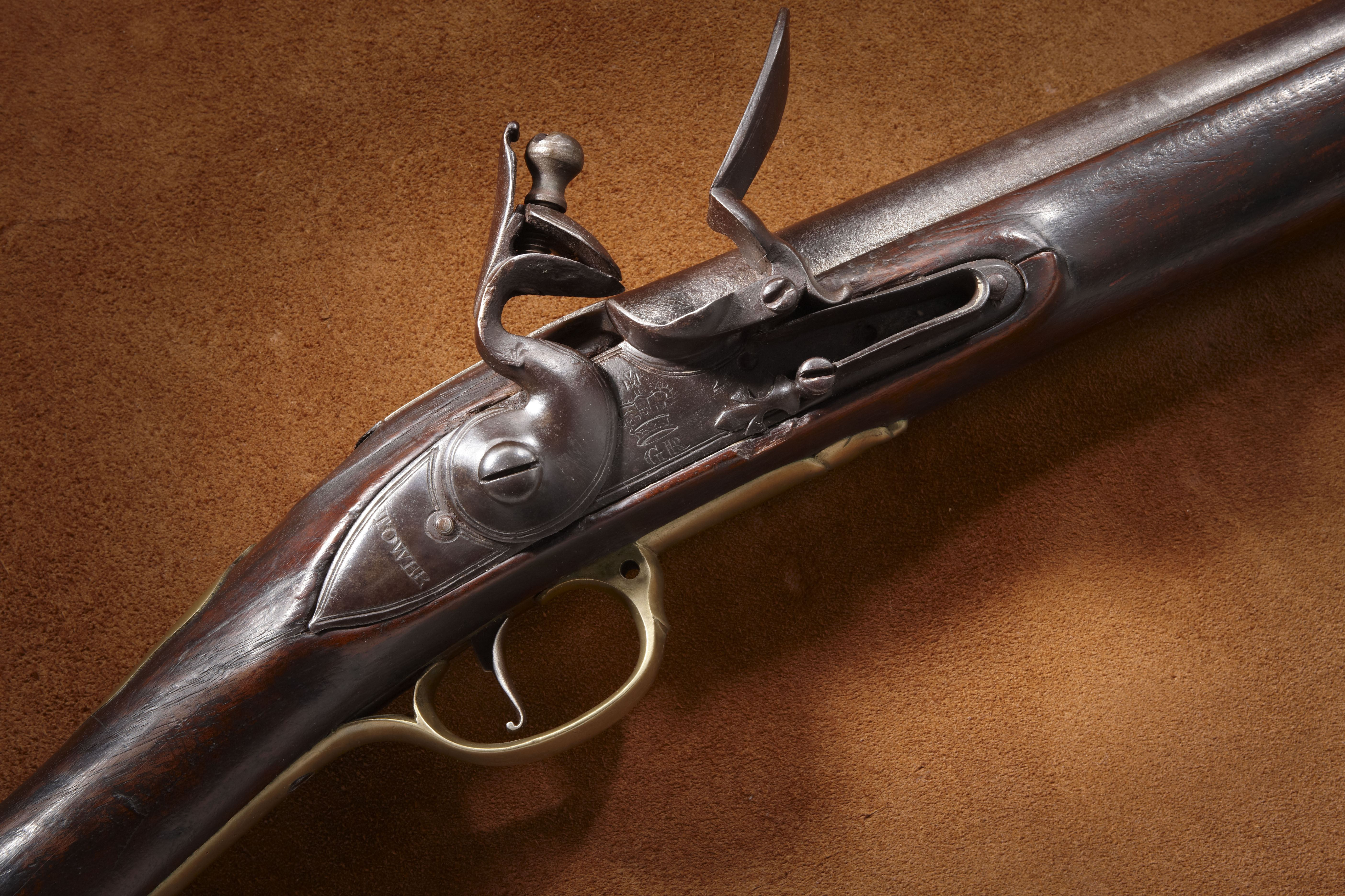 British Short Land New Pattern Flintlock Musket
