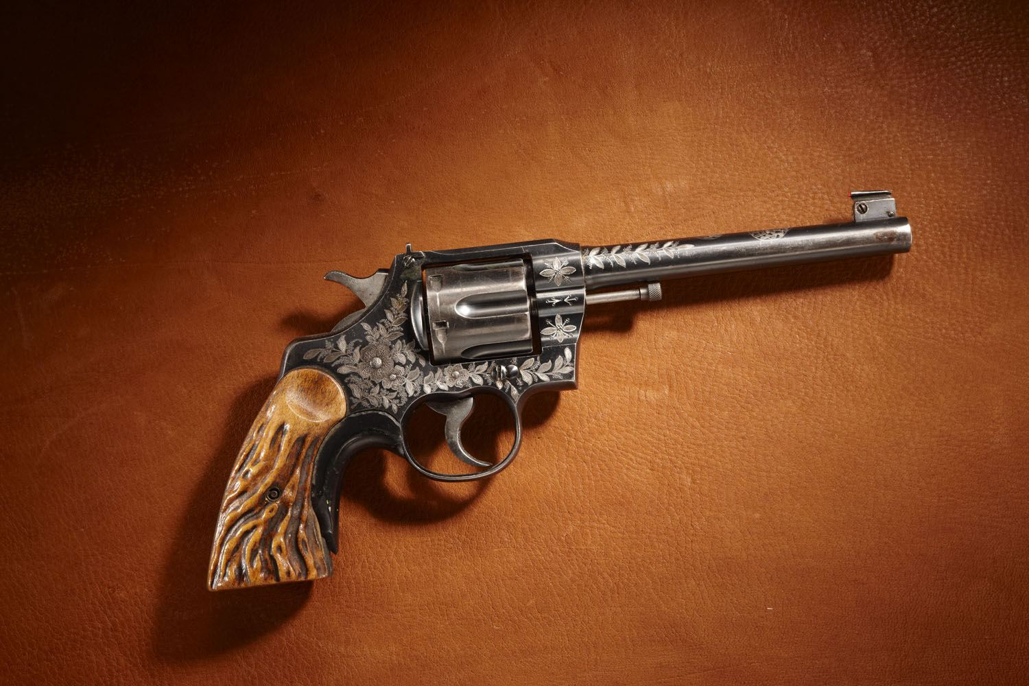Exhibition Shooter Ad Topperwein's Colt Revolver