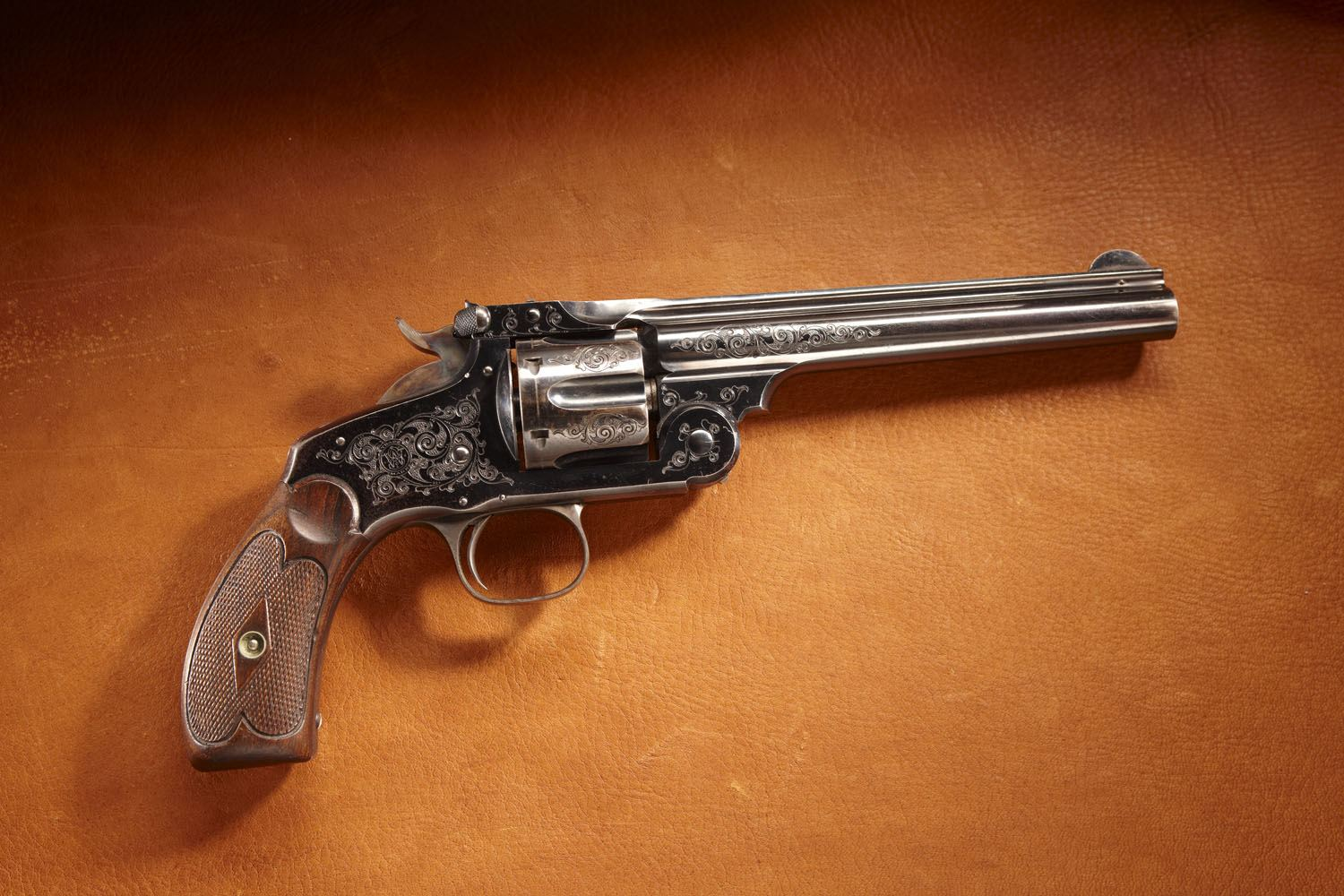 Theodore Roosevelt's Smith & Wesson New Model No. 3 Revolver