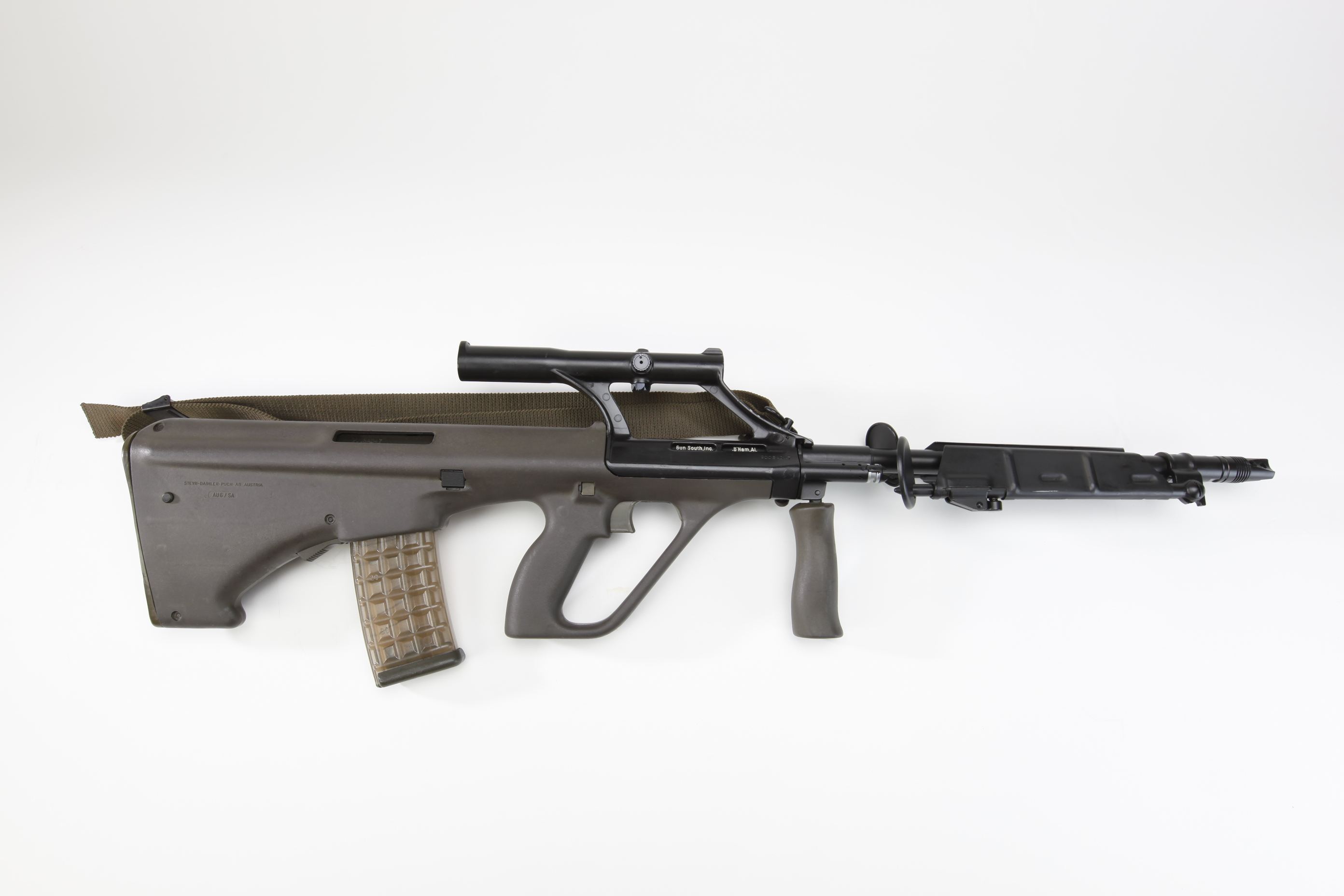 Steyr AUG rifle