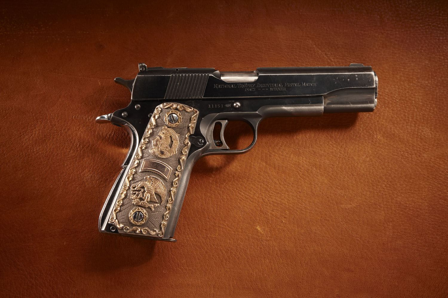 Capt. William McMillan's Colt National Match Pistol