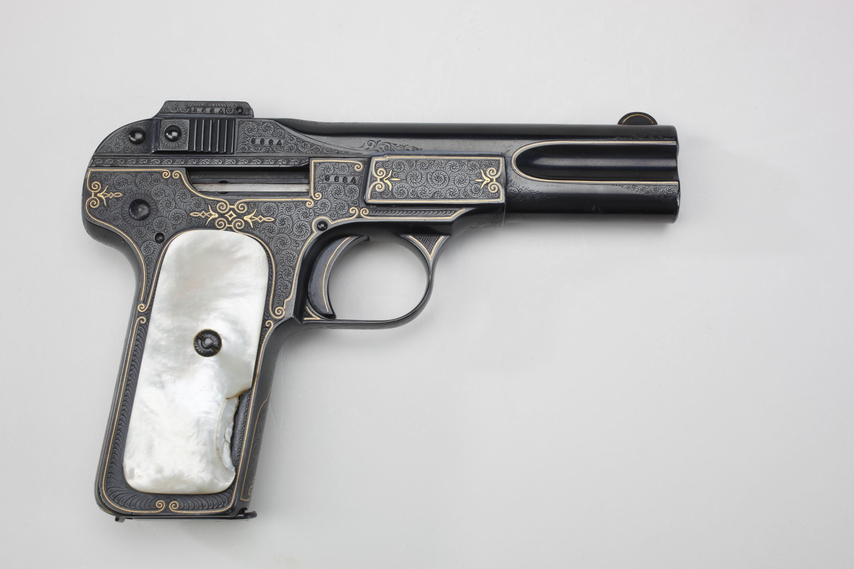 Fabrique Nationale Model 1900 Semi Automatic Pistol