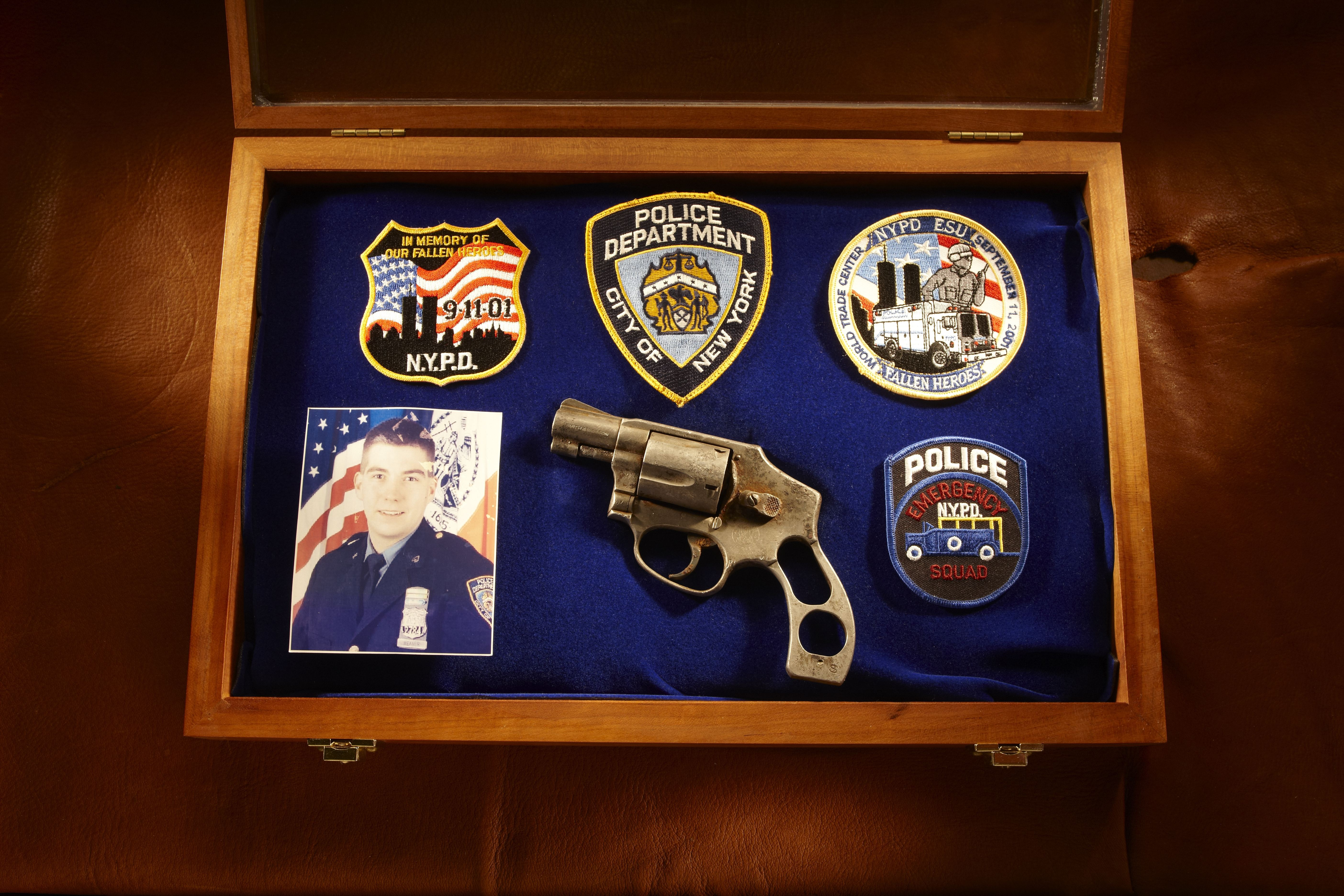 9/11 Revolver - Officer Walter Weaver