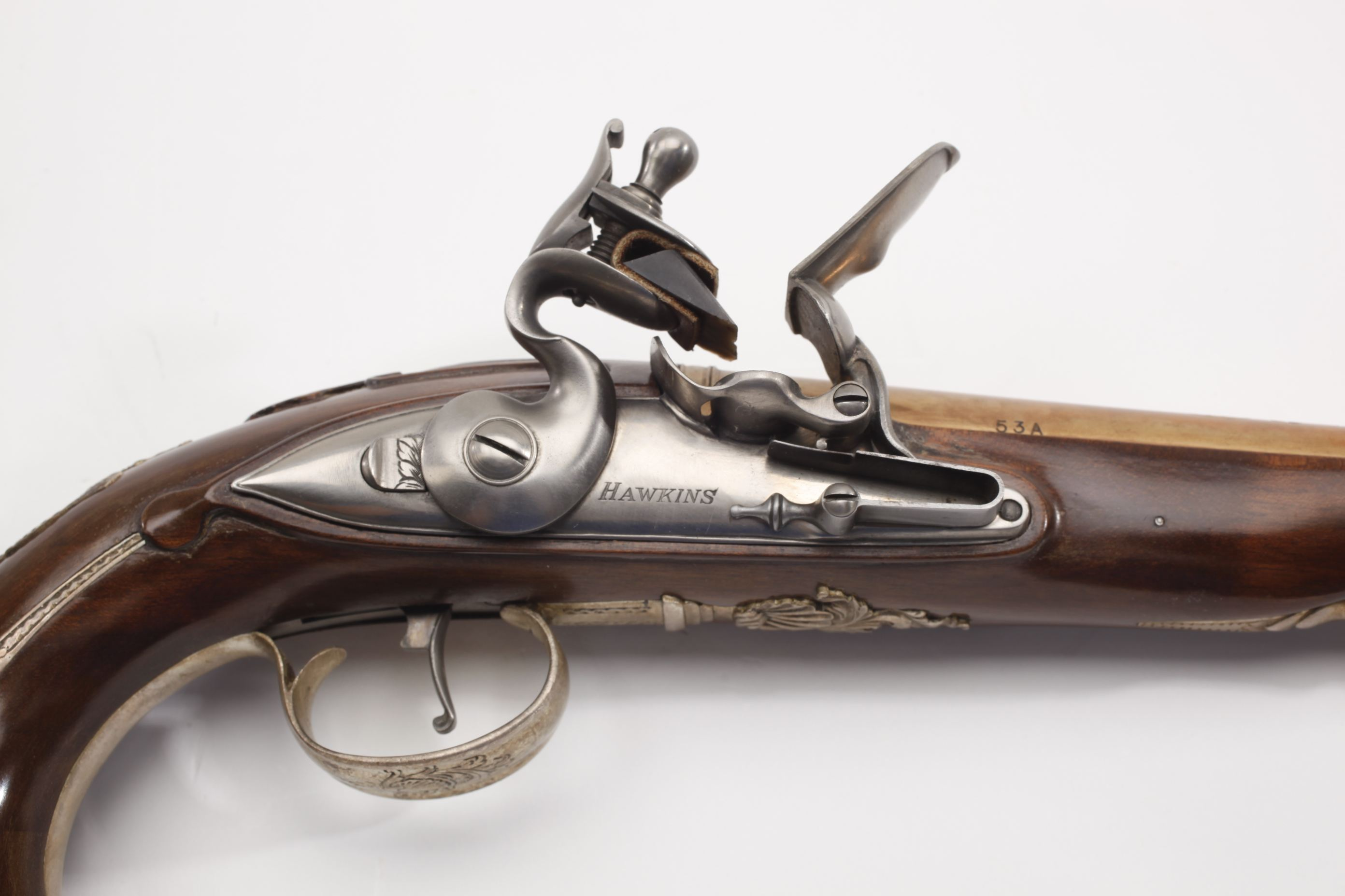 George Washington Matched Flintlock Pistol Pair