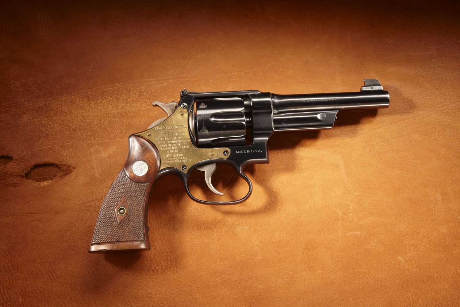 Smith & Wesson Pre-War .38/44 Police Target Model revolver