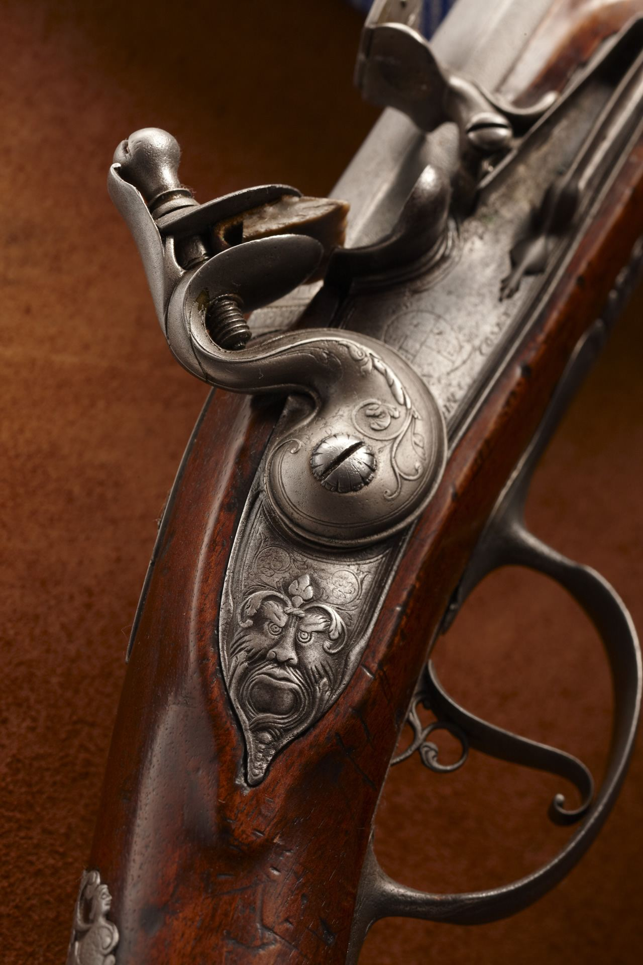 King James' Flintlock Fowler