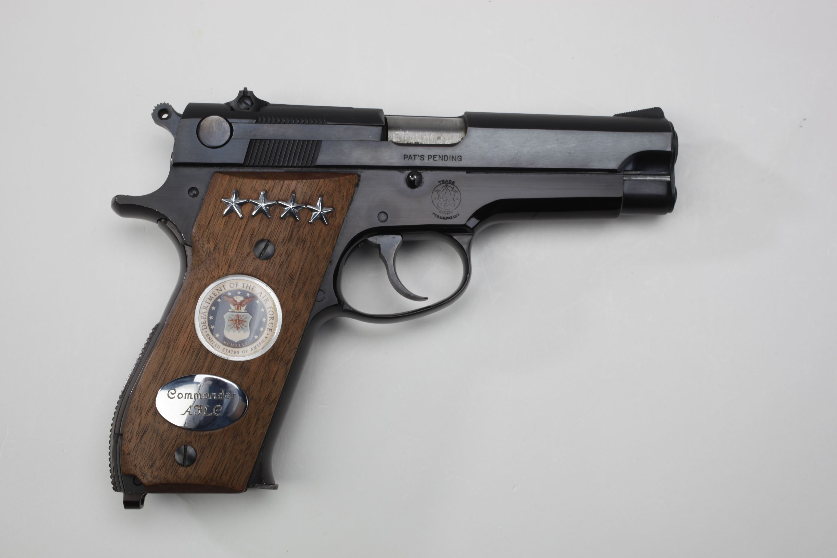 General Poe's Smith & Wesson M39 U.S. Air Force Semi-Automatic General Officer's Pistol
