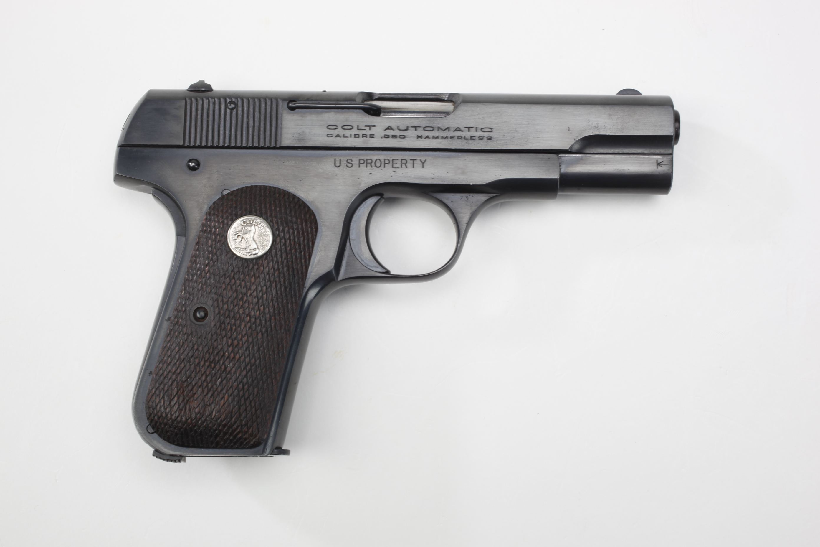 General Isaac D. White's U.S./Colt M1908 Semi-Automatic General Officer's Pistol
