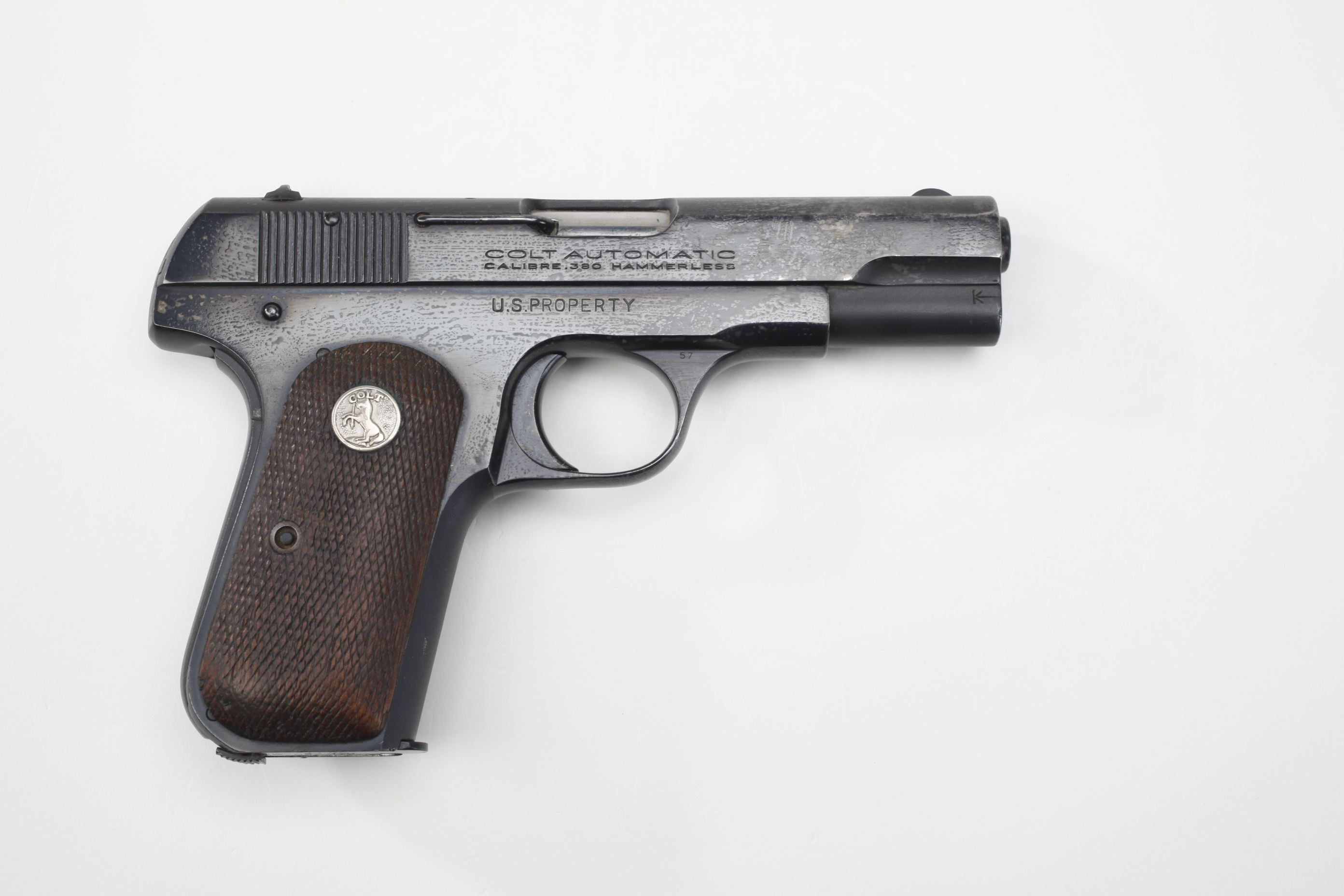 Lieutenant General Ridgely Gaither's U.S./Colt M1908 Semi-Automatic General Officer's Pistol