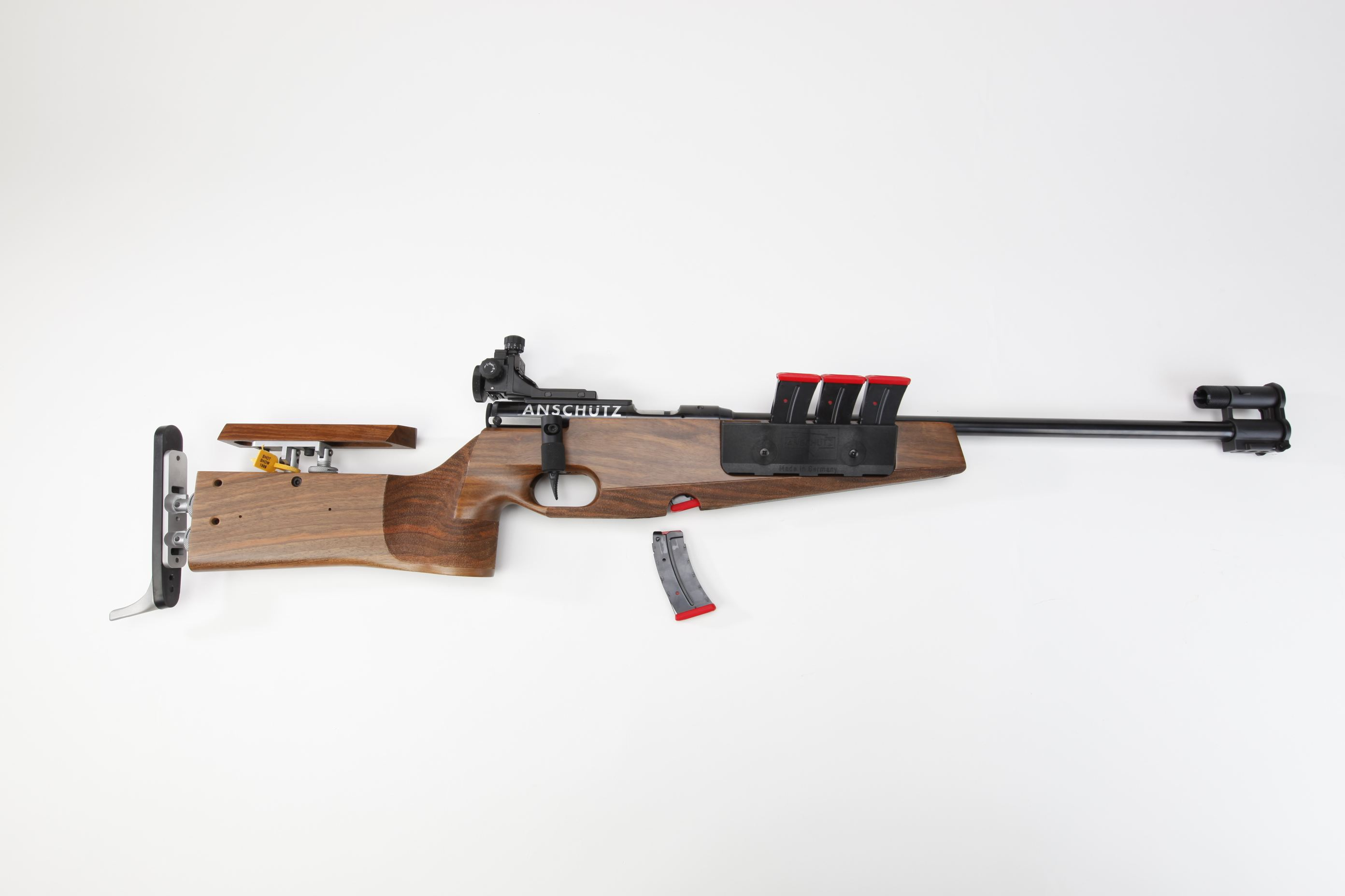 Anschutz Model 1827 Fortner Bolt Action Biathlon Rifle