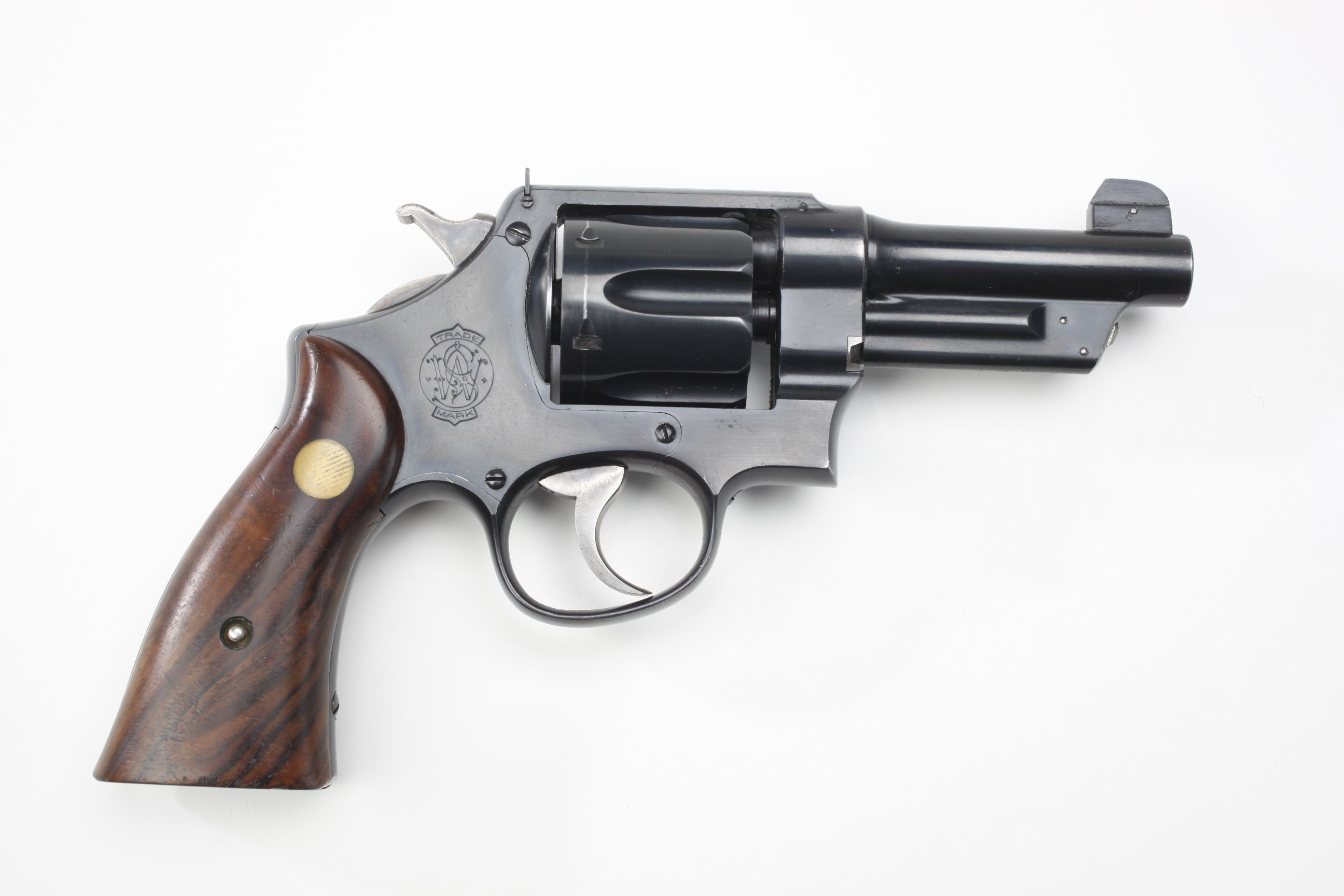 Smith & Wesson Hand Ejector First Model 44 Triple Lock Revolver