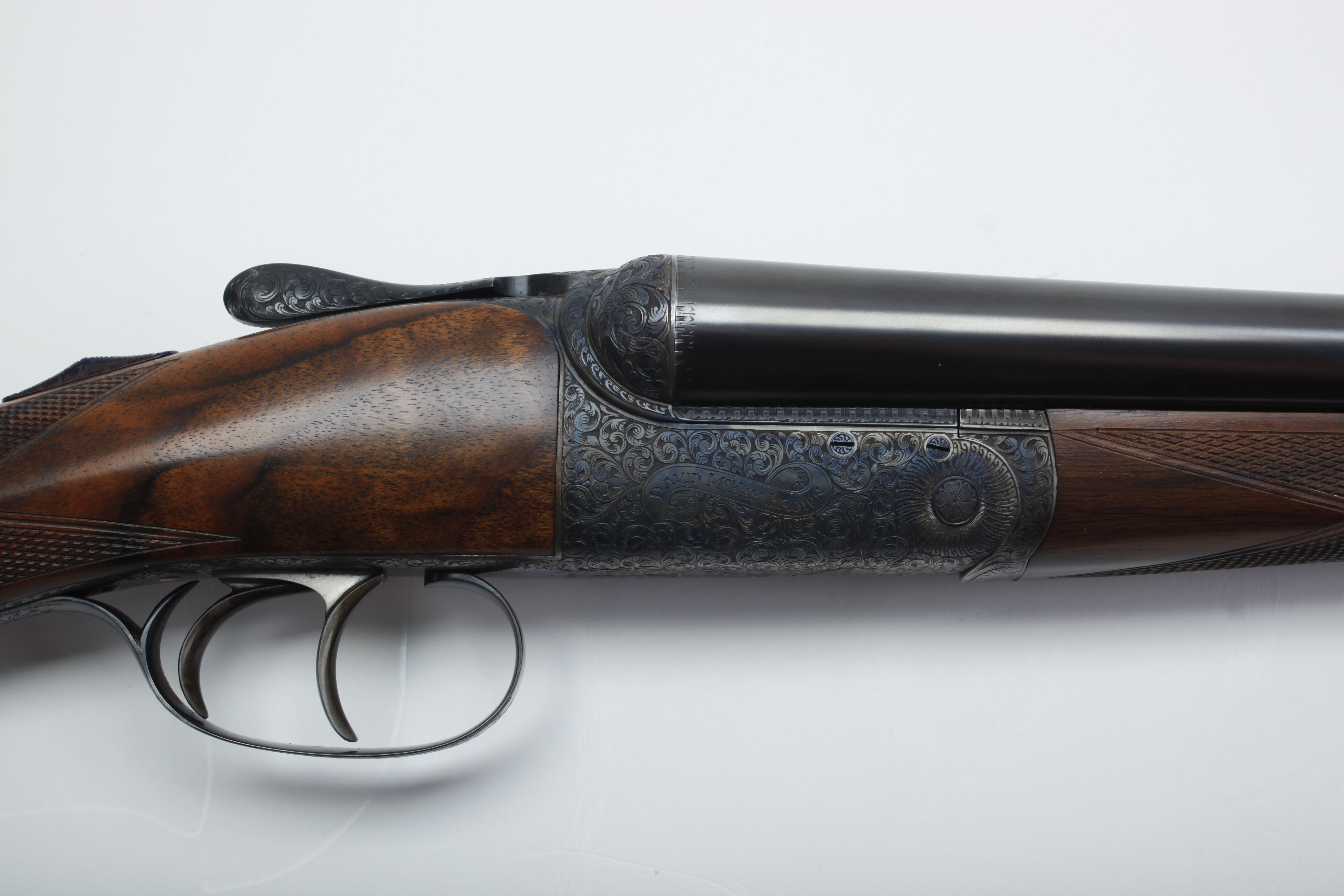 David McKay Brown Side by Side Shotgun -16 ga.
